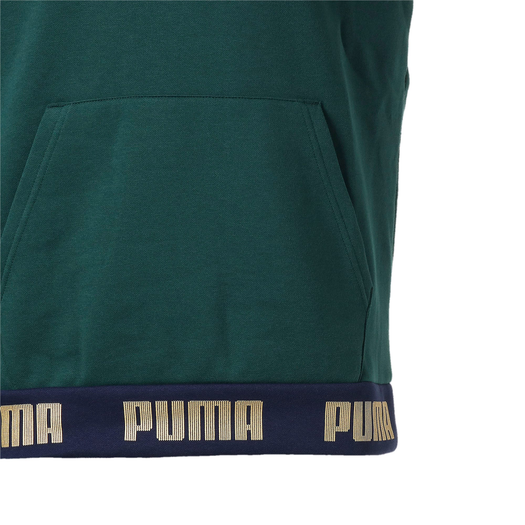Thumbnail 6 of FIGC イタリア FTBL CULTURE フーディー, Ponderosa Pine-Team Gold, medium-JPN