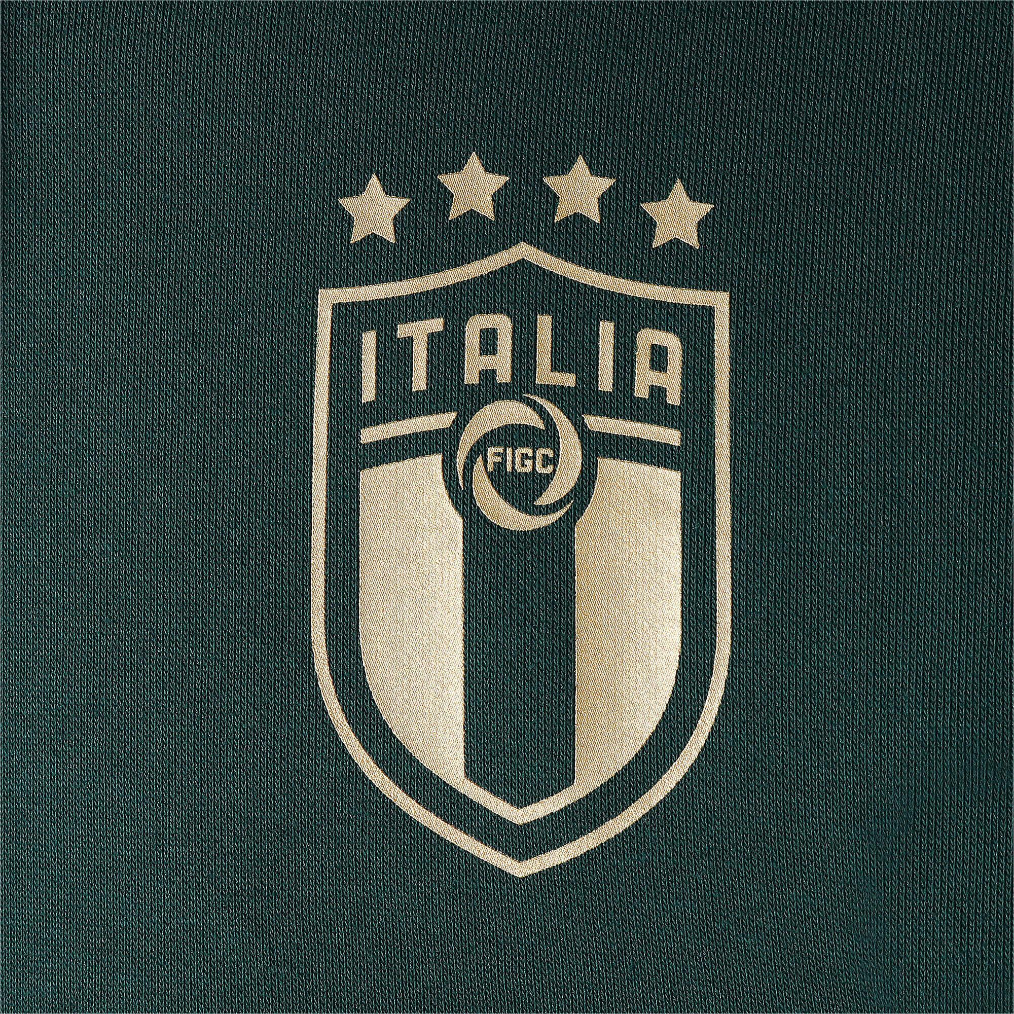 Thumbnail 7 of FIGC イタリア FTBL CULTURE フーディー, Ponderosa Pine-Team Gold, medium-JPN