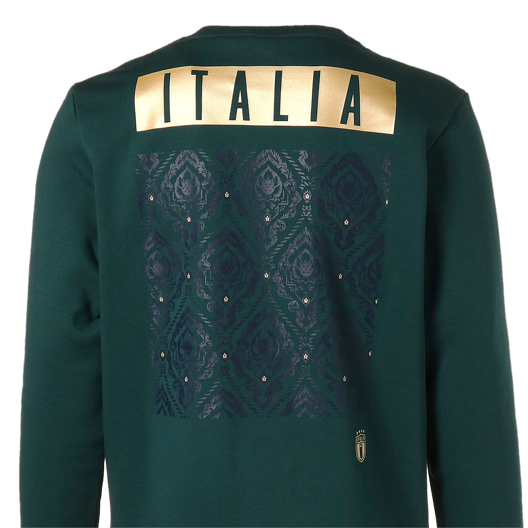 Thumbnail 8 of FIGC イタリア FTBL CULTURE クルースウェット, Ponderosa Pine-Team Gold, medium-JPN