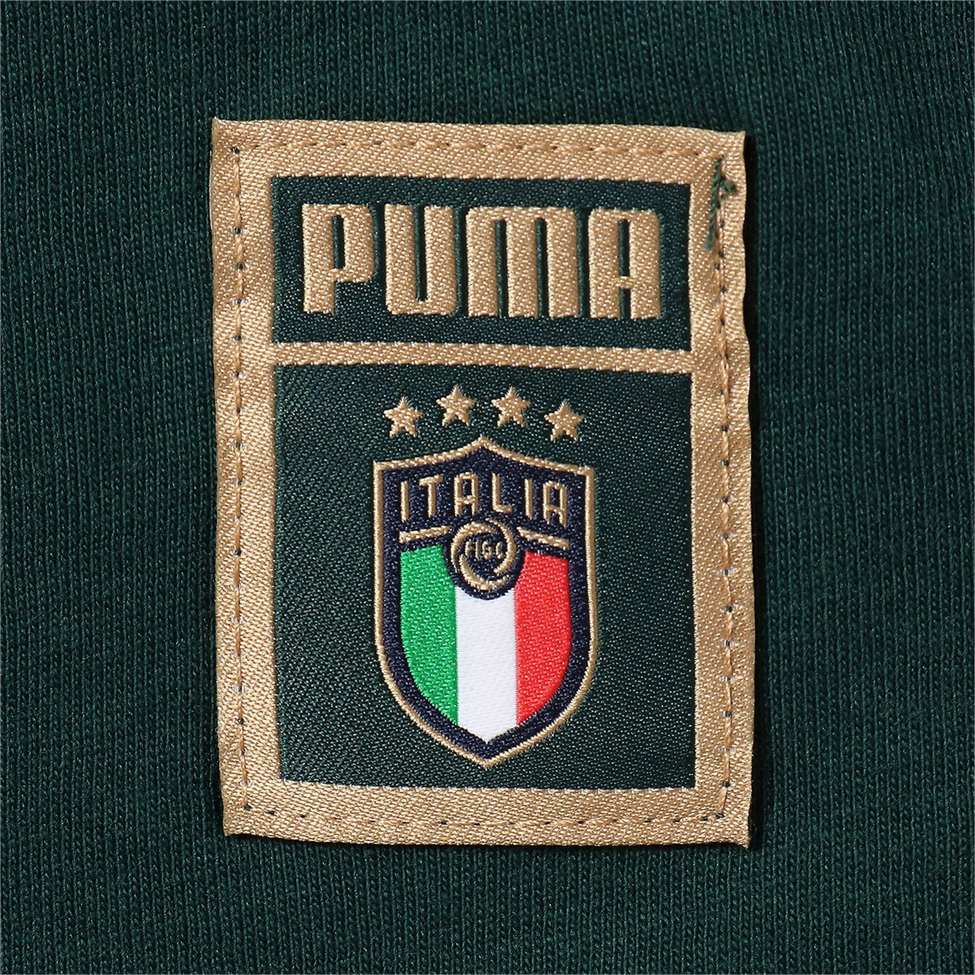 Thumbnail 4 of FIGC イタリア PUMA DNA Tシャツ 半袖, Ponderosa Pine-Team gold, medium-JPN
