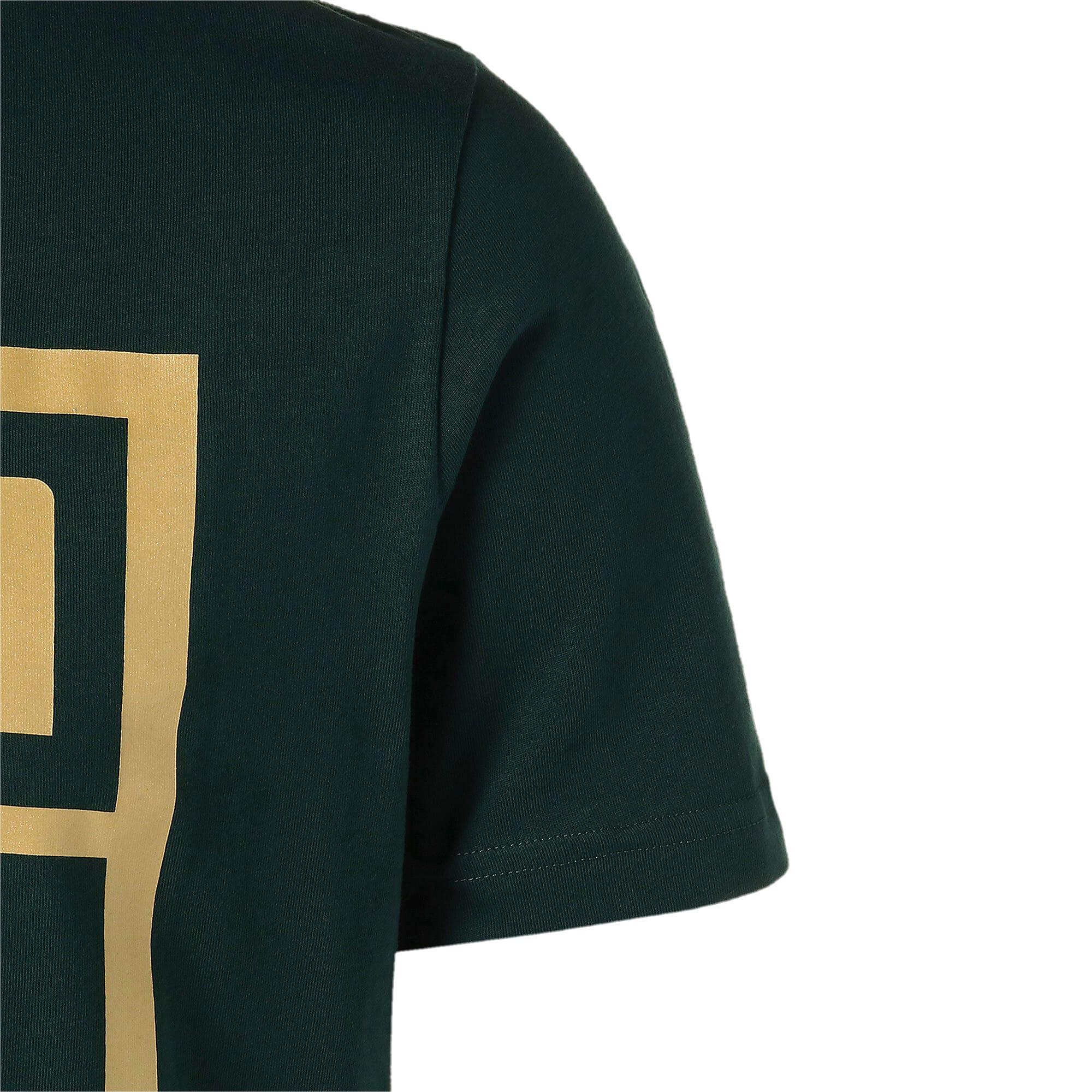 Thumbnail 5 of FIGC イタリア PUMA DNA Tシャツ 半袖, Ponderosa Pine-Team gold, medium-JPN