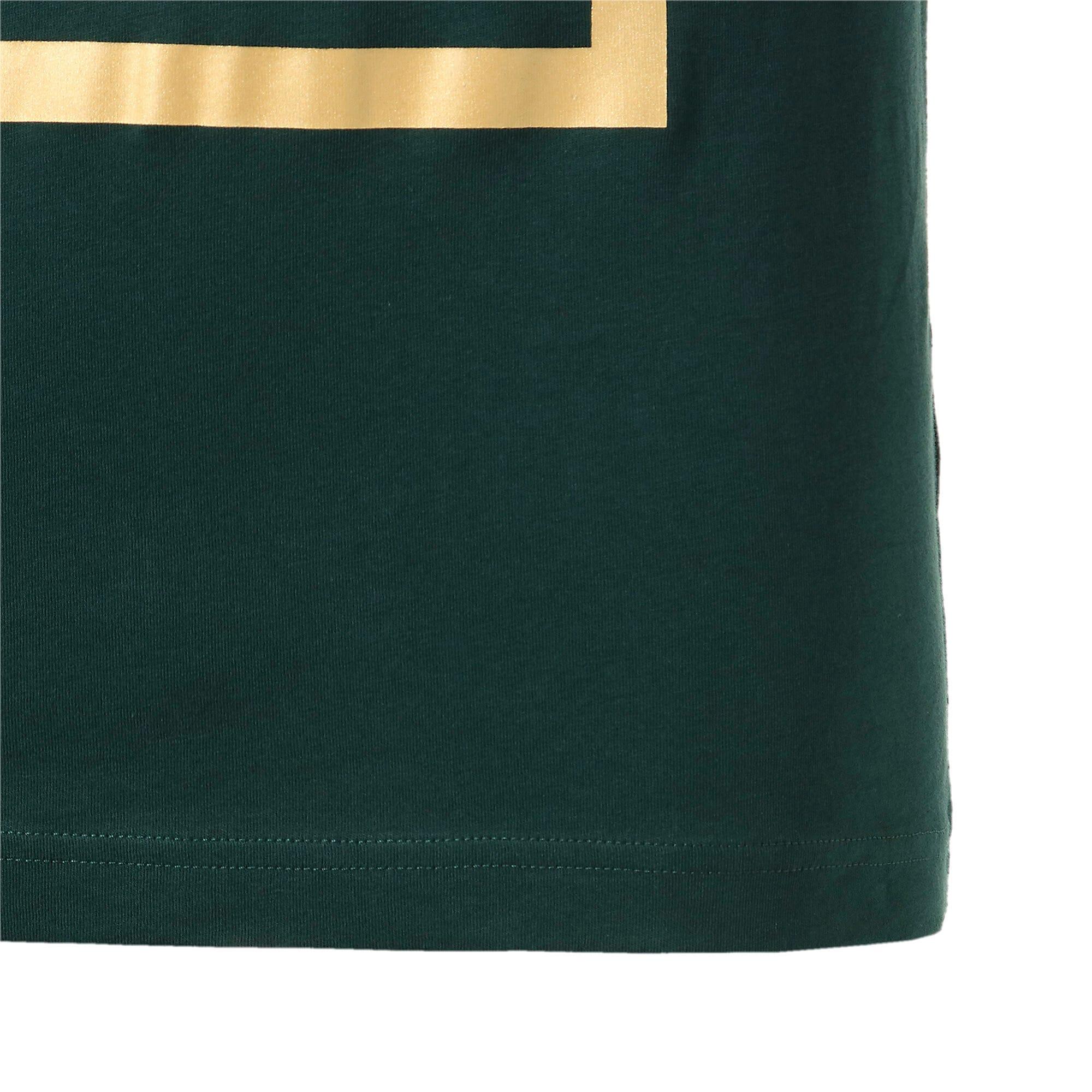 Thumbnail 6 of FIGC イタリア PUMA DNA Tシャツ 半袖, Ponderosa Pine-Team gold, medium-JPN