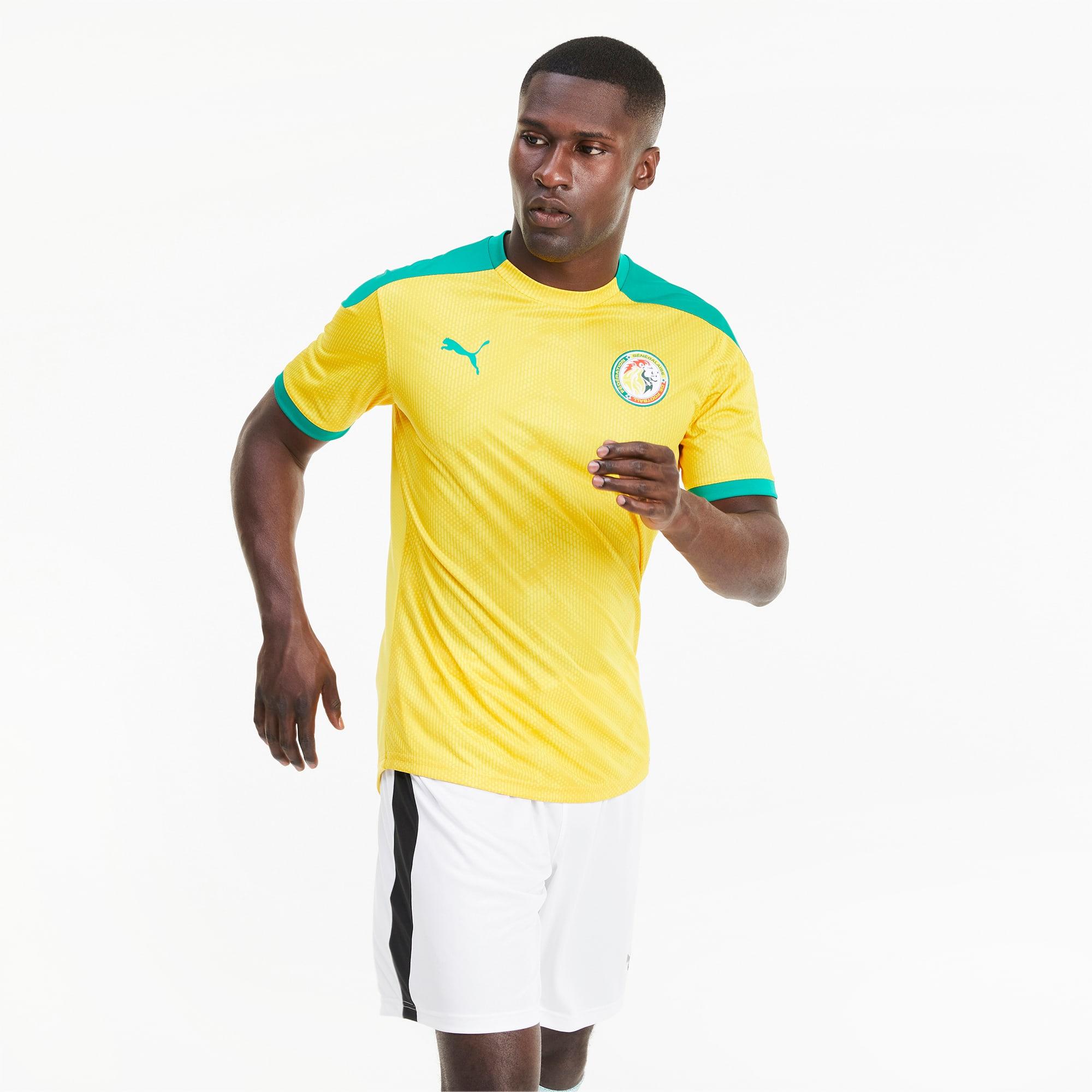 Senegal Stadium men's jersey, Green/Yellow, Size S   PUMA, - ,Puma ...