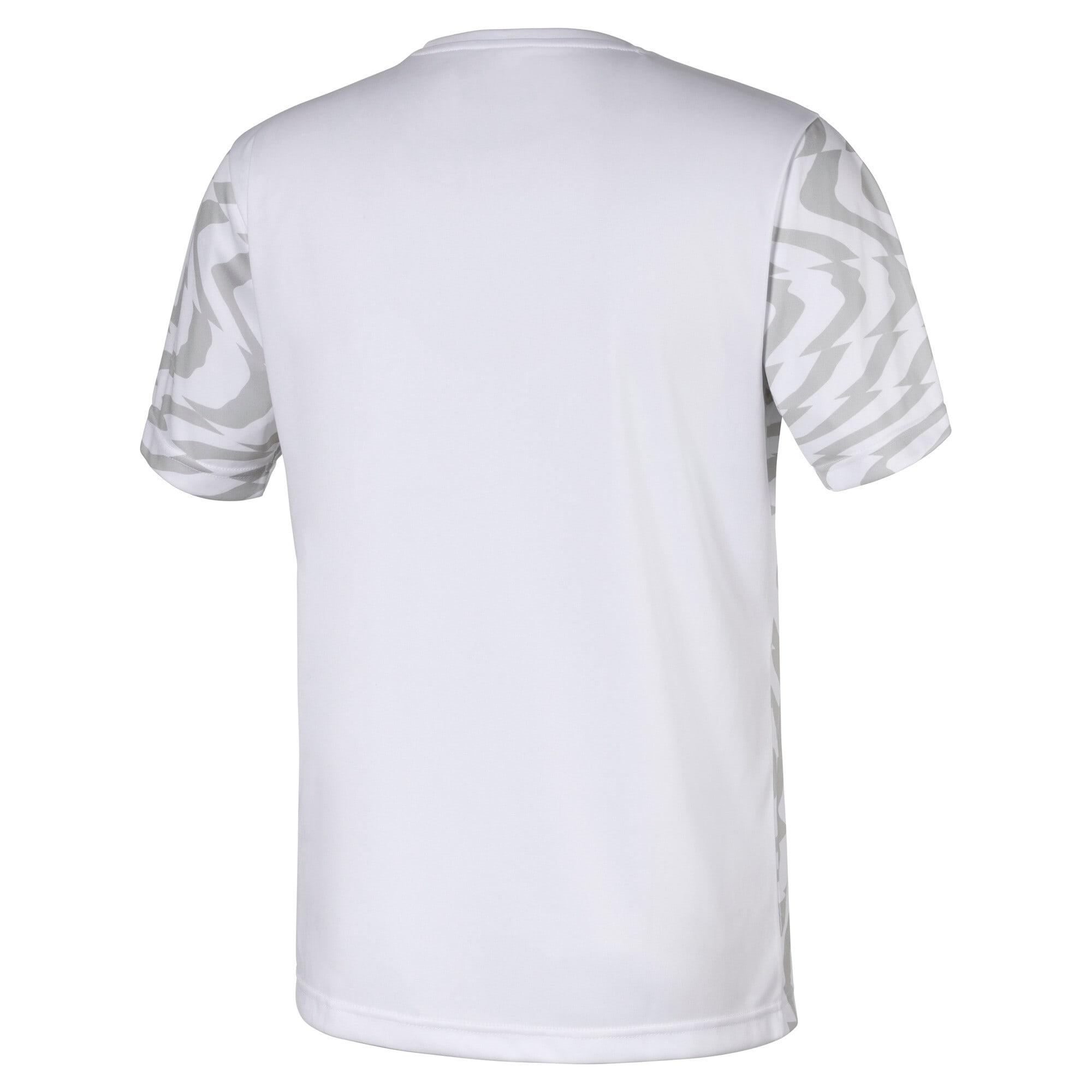 Thumbnail 2 of Egypt Men's Away Replica Jersey, Puma White-Puma Black, medium