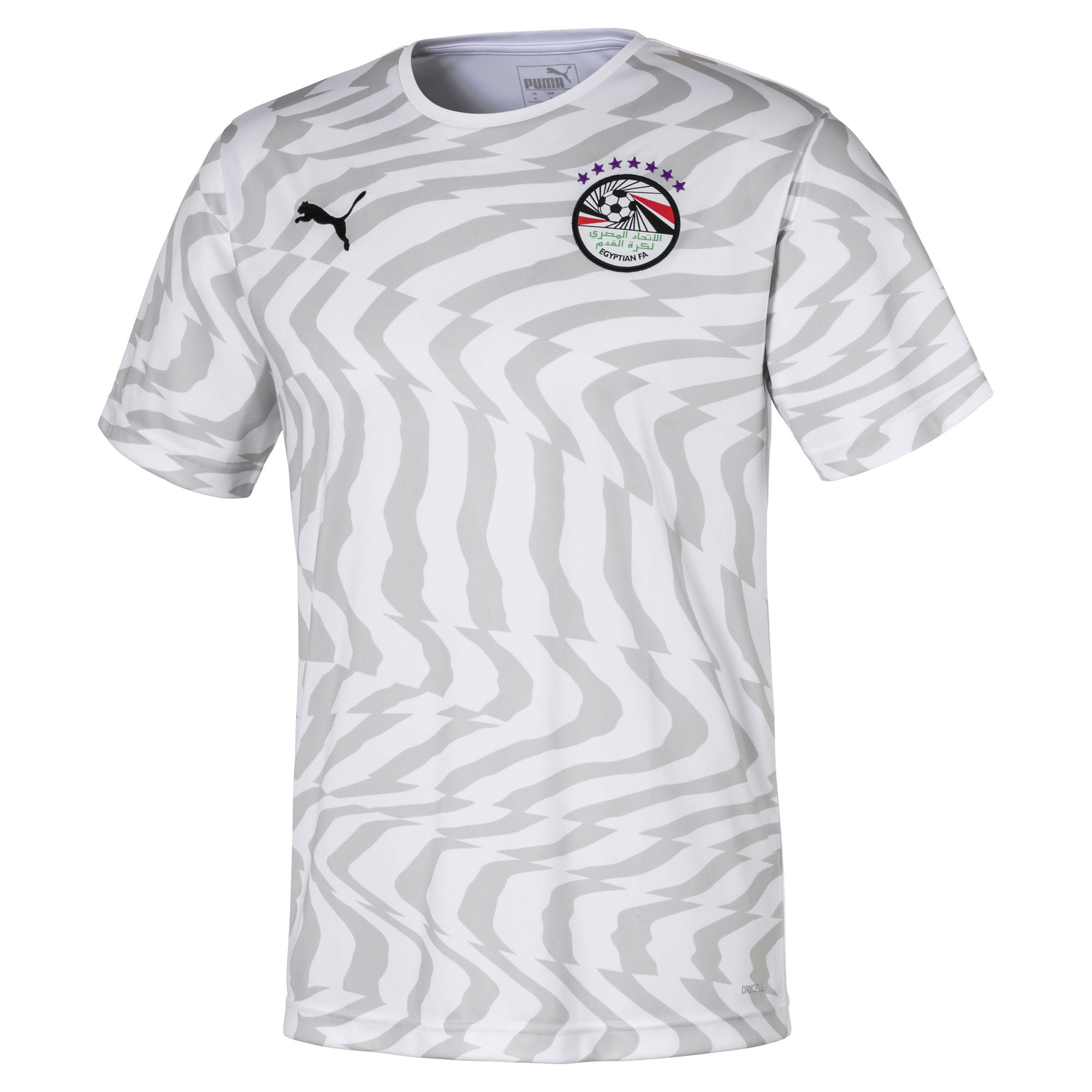 Thumbnail 1 of Egypt Men's Away Replica Jersey, Puma White-Puma Black, medium