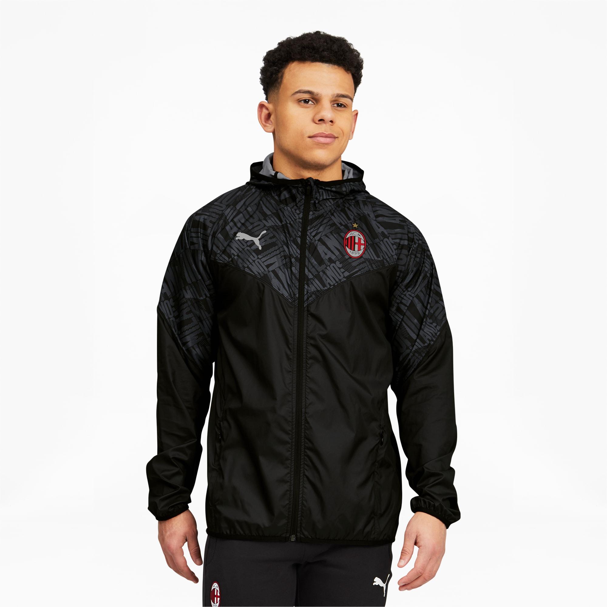 AC Milan Men's Warm Up Jacket