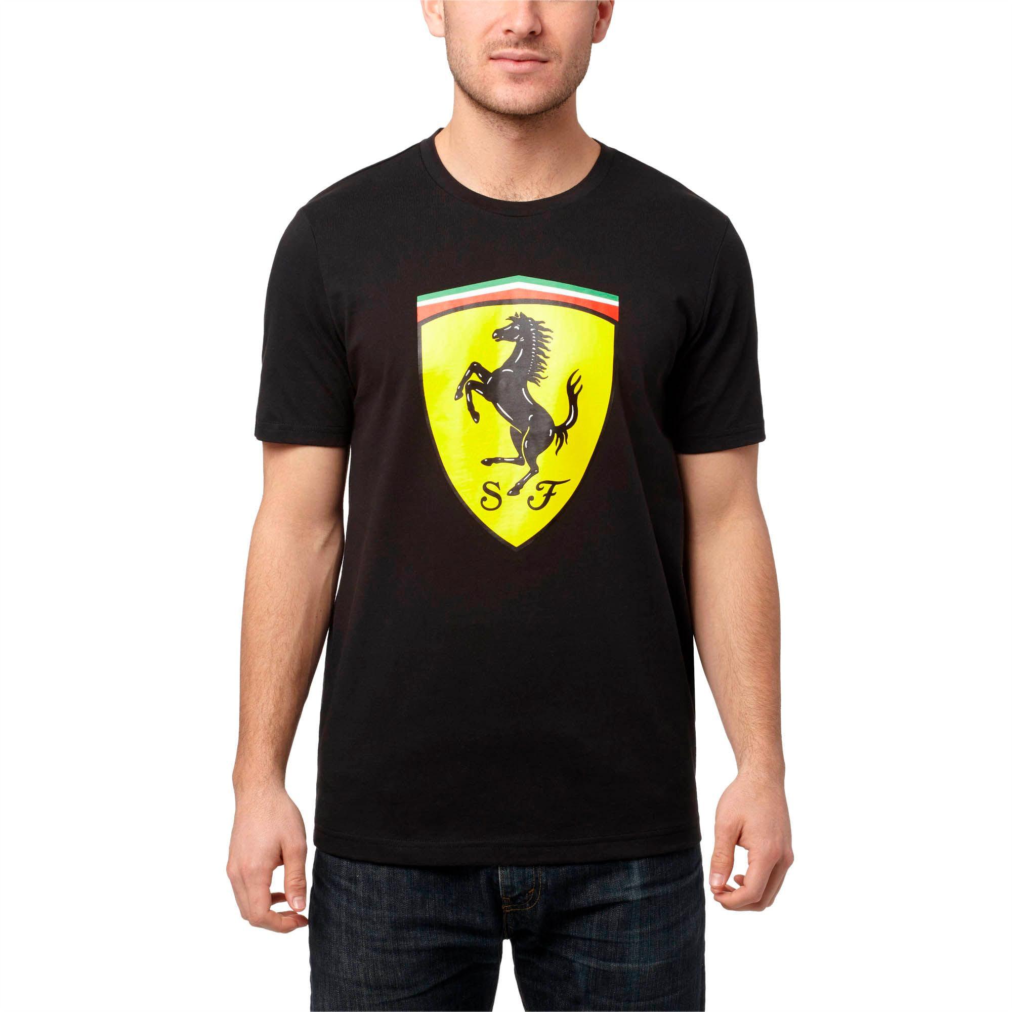 Ferrari Men's Big Shield T-Shirt
