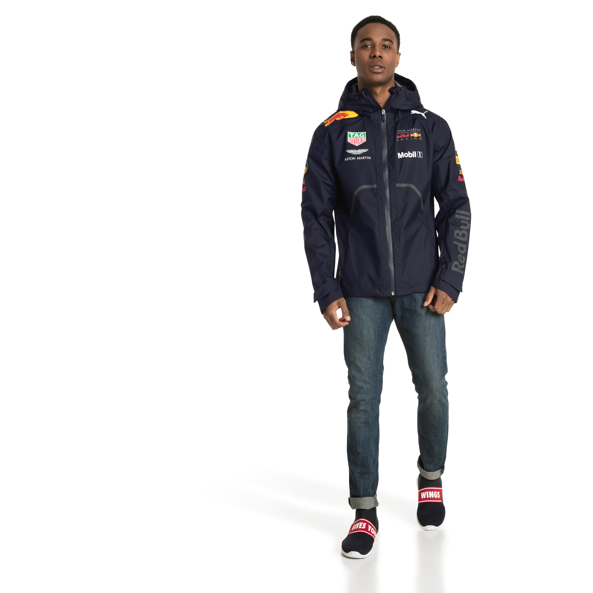 PUMA Regenjacke »Red Bull Racing Herren Team Regenjacke mit