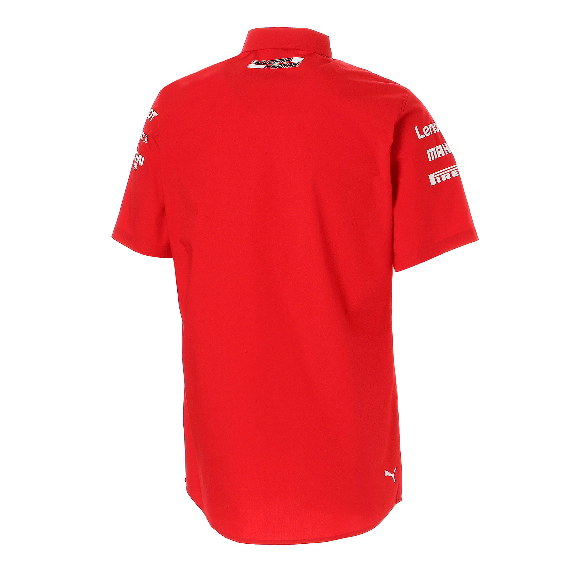 Thumbnail 3 of フェラーリ SF チーム シャツ, Rosso Corsa-without MW Logo, medium-JPN