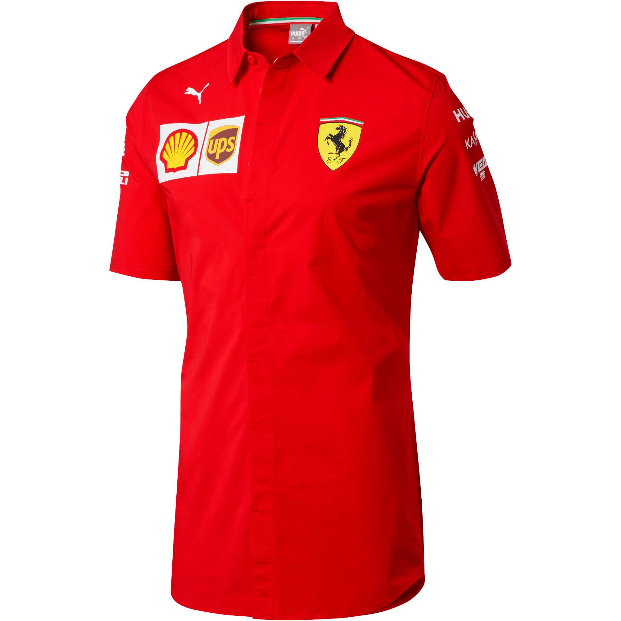 Miniatura 4 de Camiseta del equipo Scuderia Ferrari para hombre, Rosso Corsa-without MW Logo, mediano