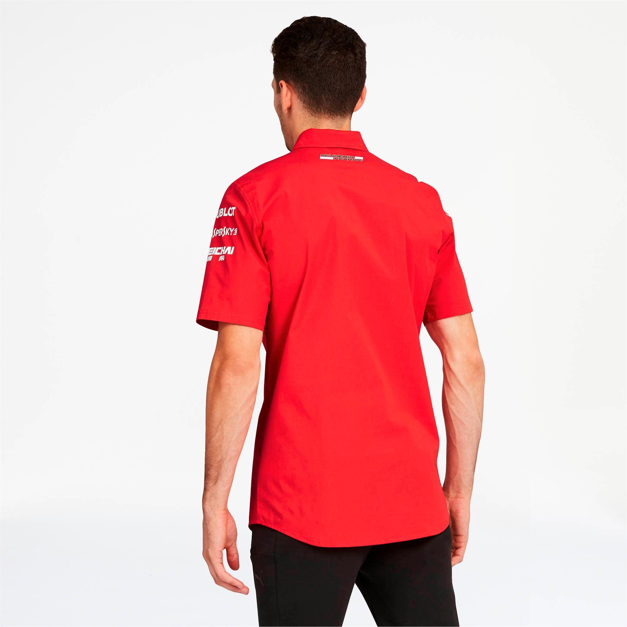 Miniatura 2 de Camiseta del equipo Scuderia Ferrari para hombre, Rosso Corsa-without MW Logo, mediano