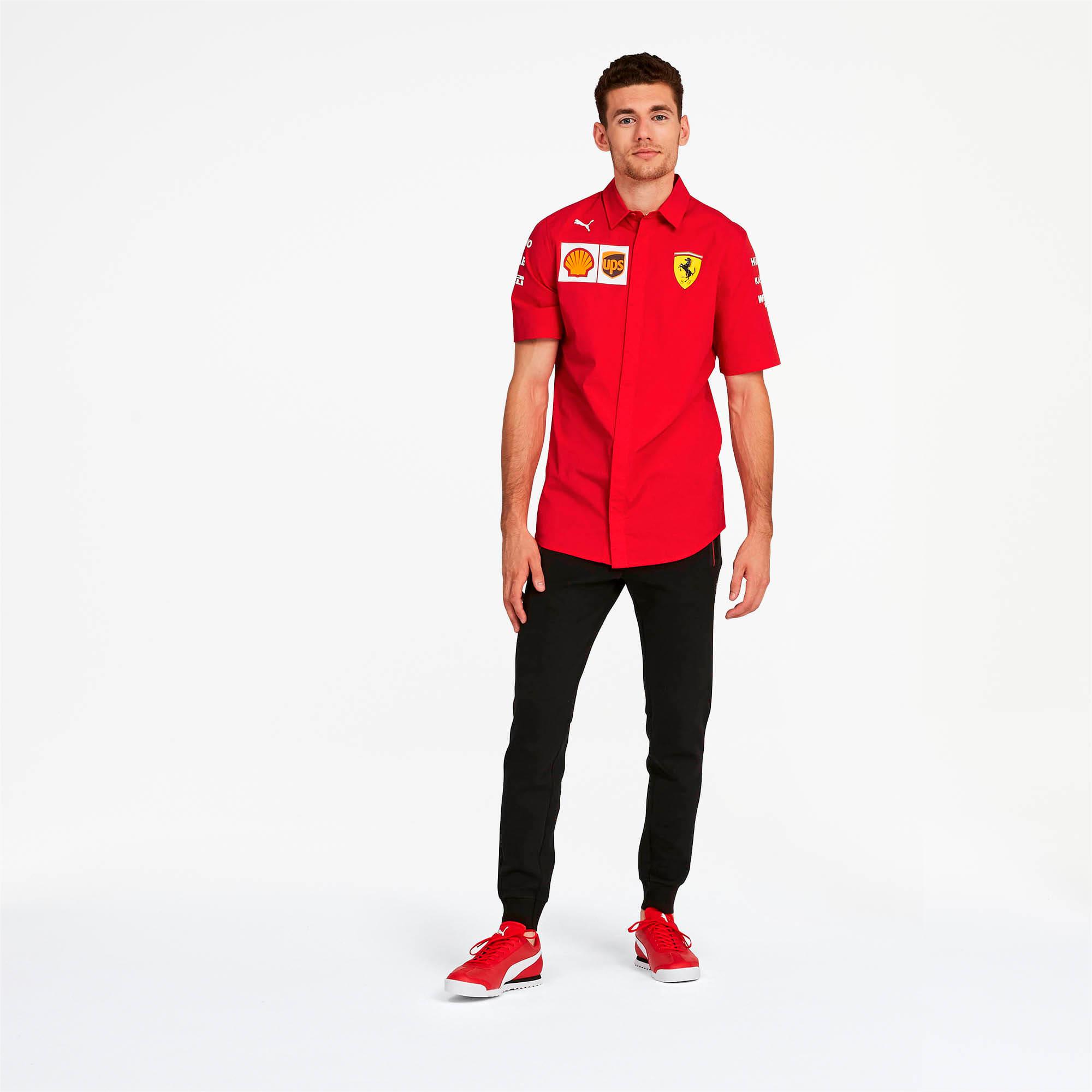 Miniatura 3 de Camiseta del equipo Scuderia Ferrari para hombre, Rosso Corsa-without MW Logo, mediano
