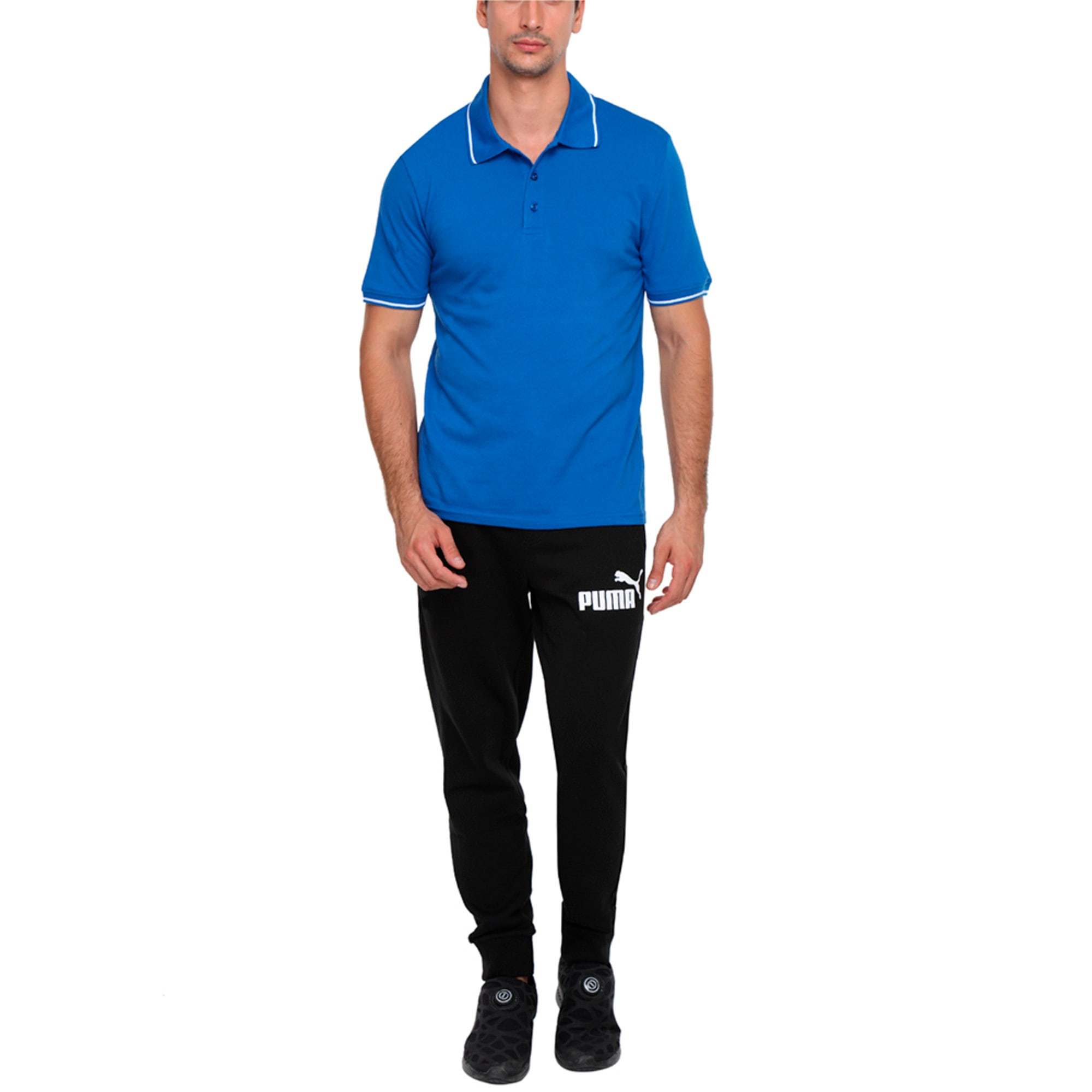 Thumbnail 1 of Men s ESS Tipping Polo, Royal Blue, medium-IND