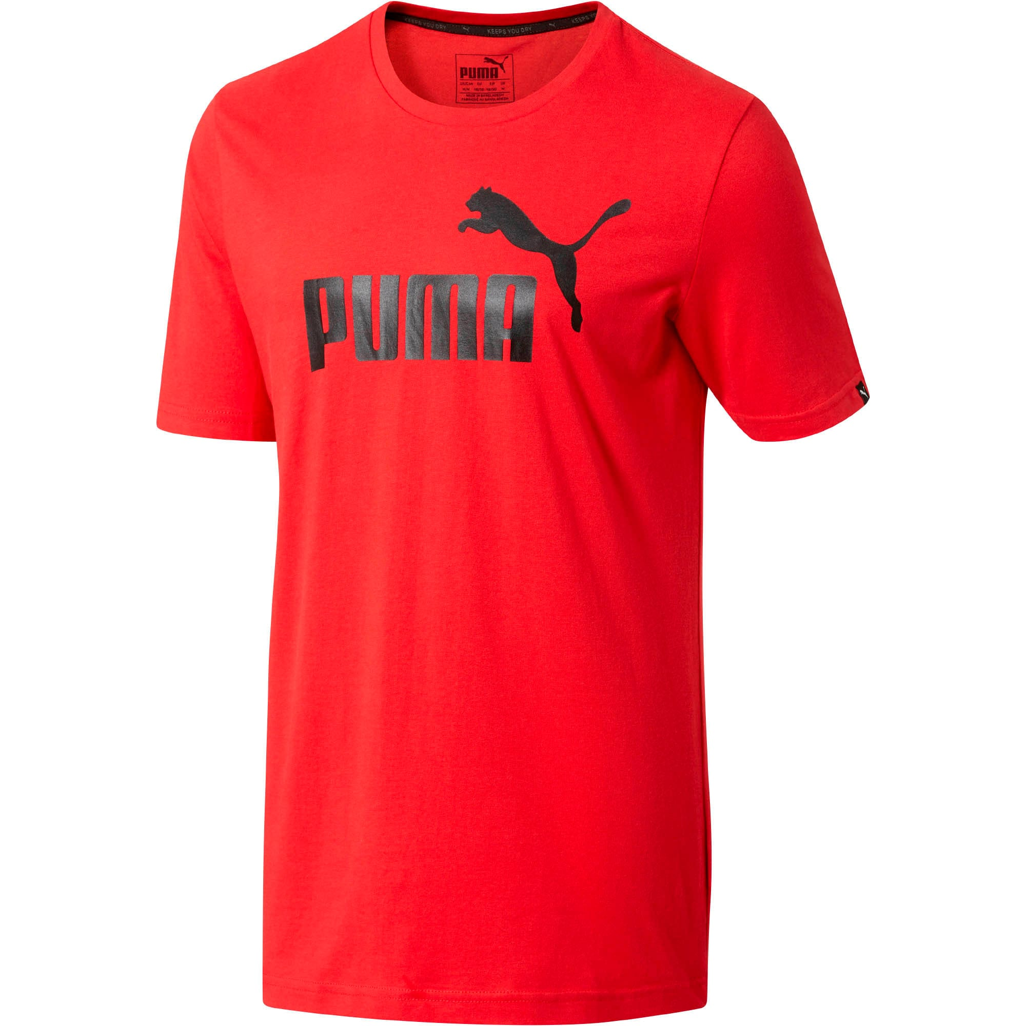 Thumbnail 1 of No.1 Logo Men's T-Shirt, Ribbon Red, medium