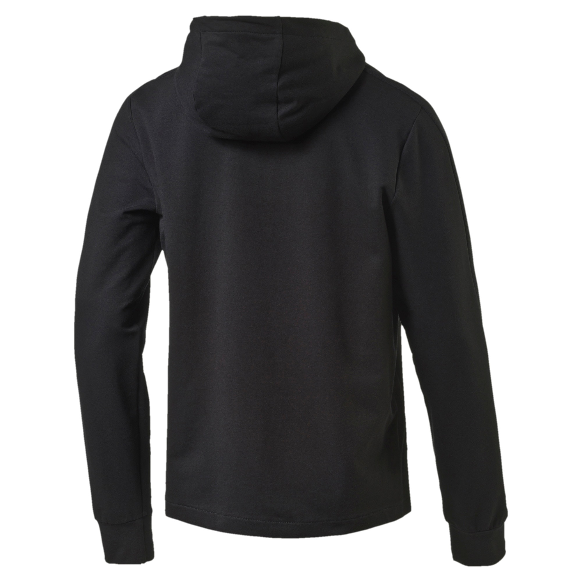 Thumbnail 3 of StretchLite Zip-Up Hoodie, Cotton Black, medium