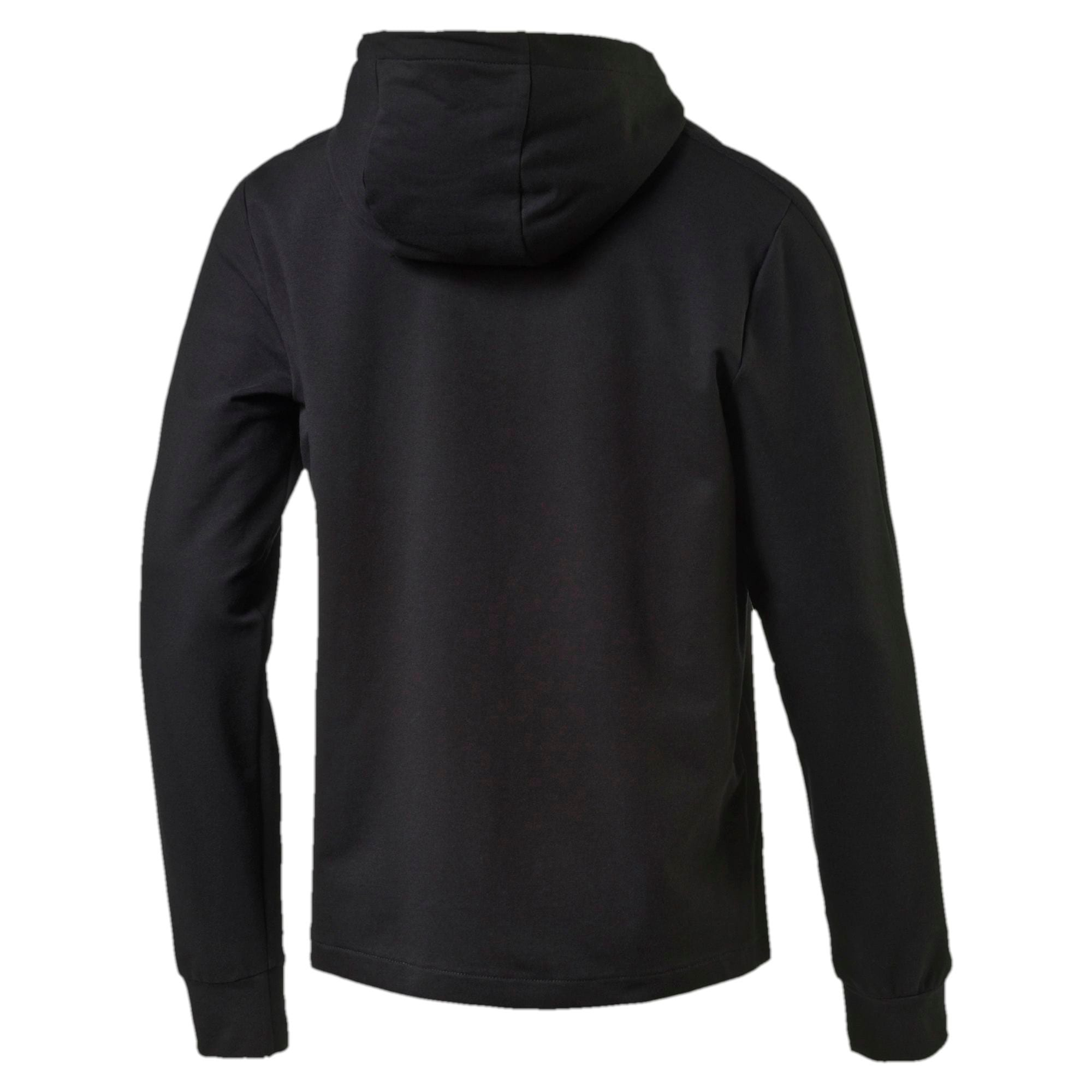 Thumbnail 4 of StretchLite Zip-Up Hoodie, Cotton Black, medium