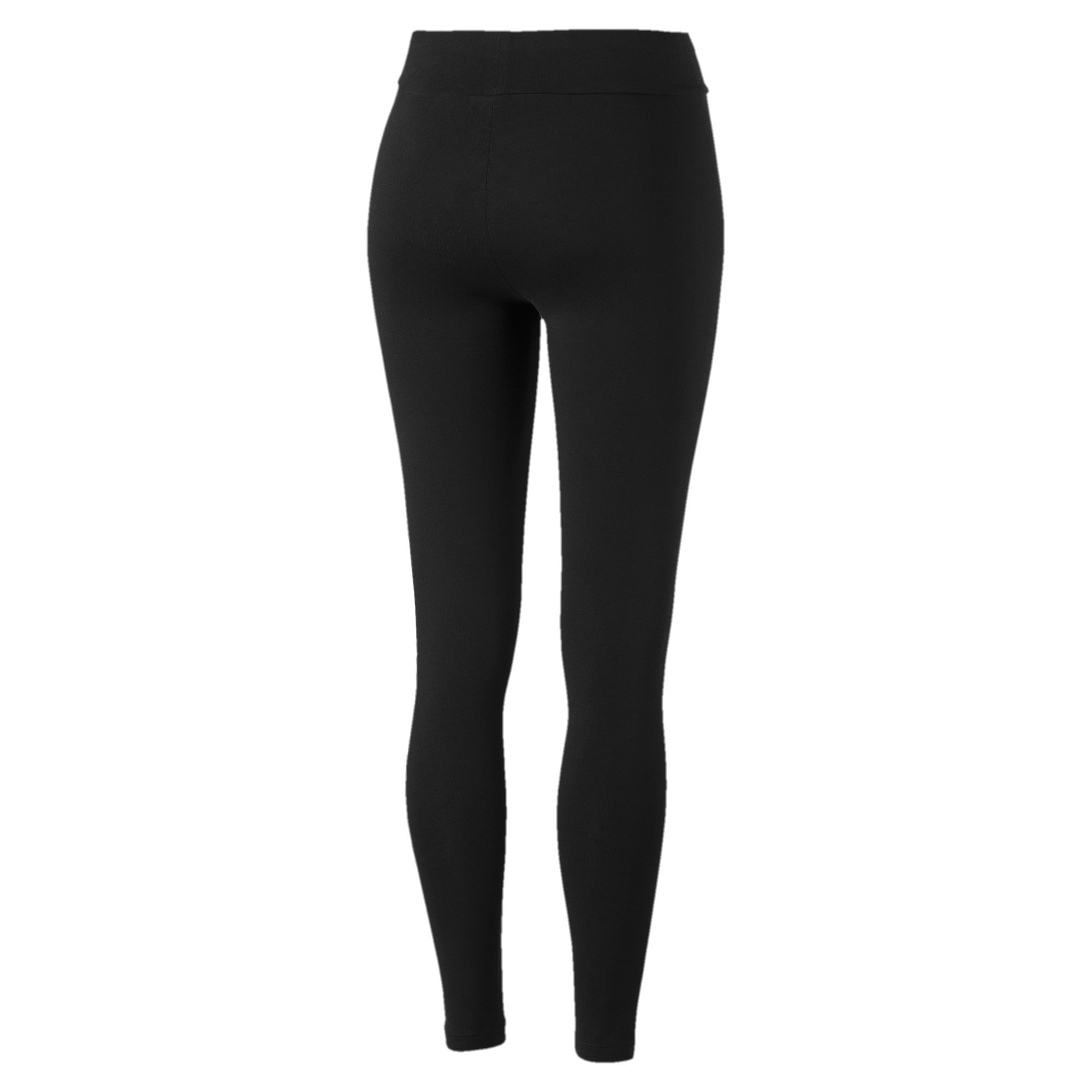 Thumbnail 2 of Essentials+ Graphic Women's Leggings, Puma Black, medium