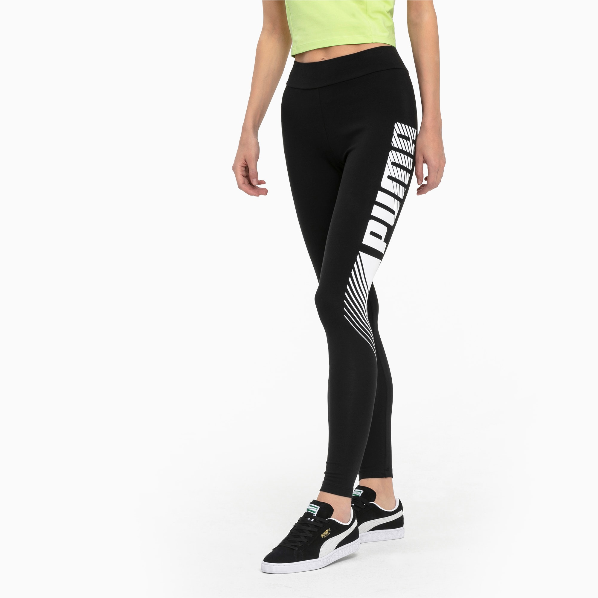 Puma Damen Tights Essential Graphic Leggings 843705