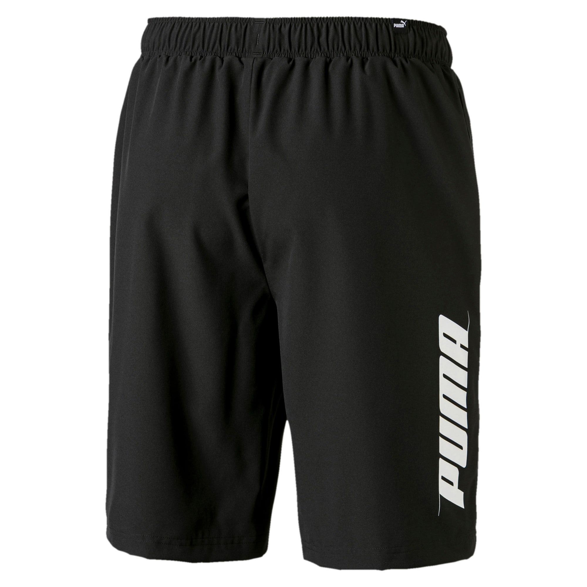 "Thumbnail 2 of Rebel Woven 9"" Men's Shorts, Puma Black, medium"