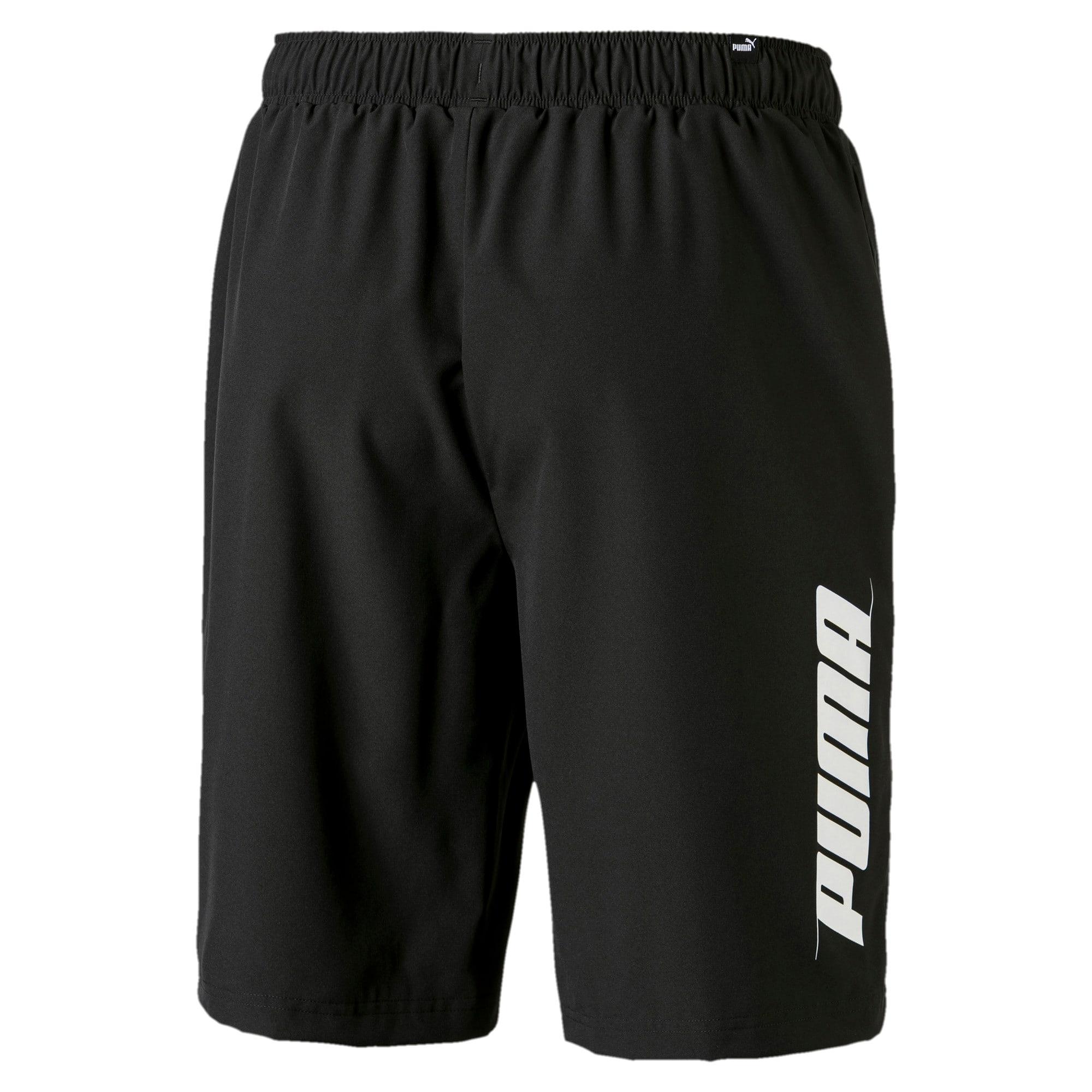 Thumbnail 2 of Rebel Herren Gewebte Shorts, Puma Black, medium