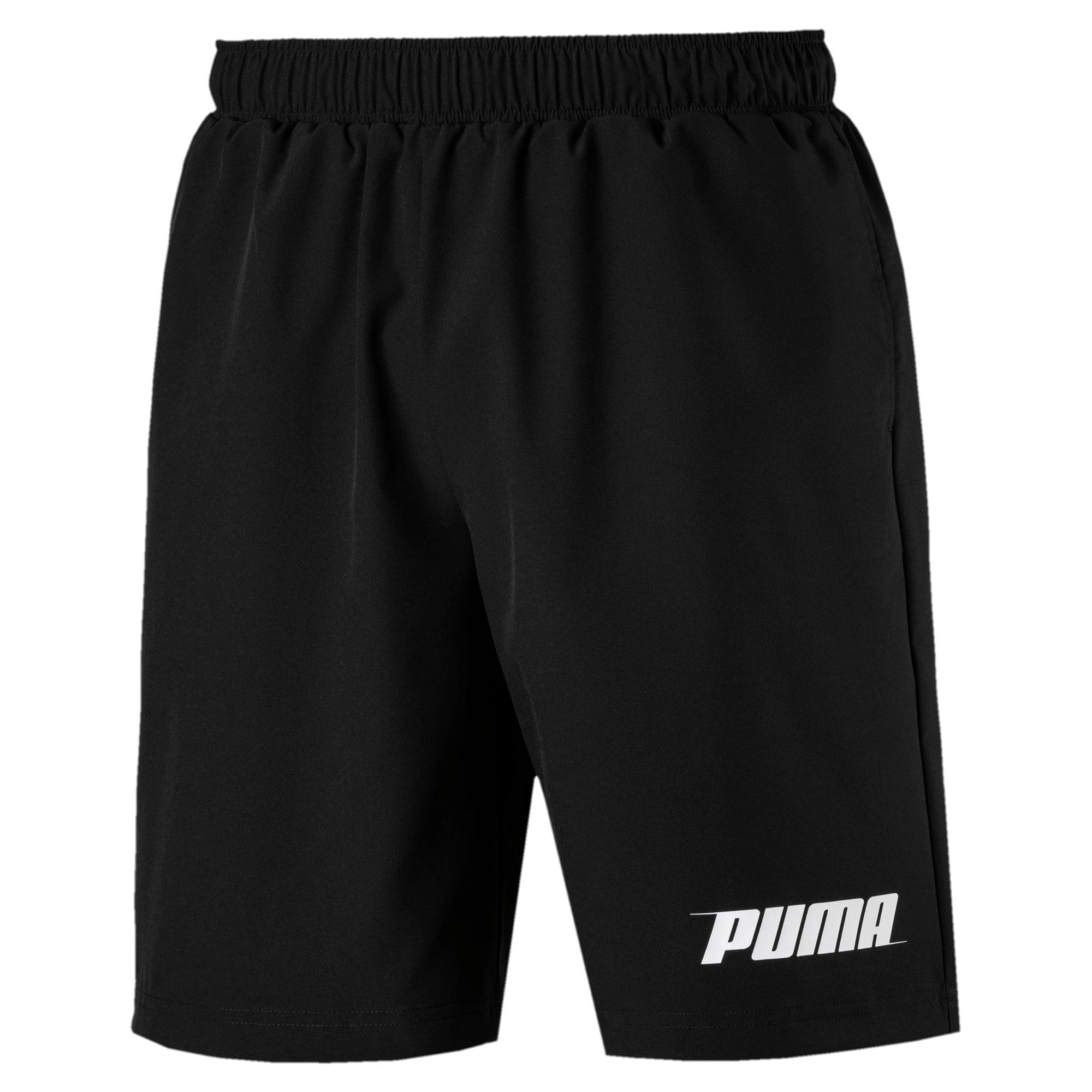 Thumbnail 1 of Rebel Herren Gewebte Shorts, Puma Black, medium