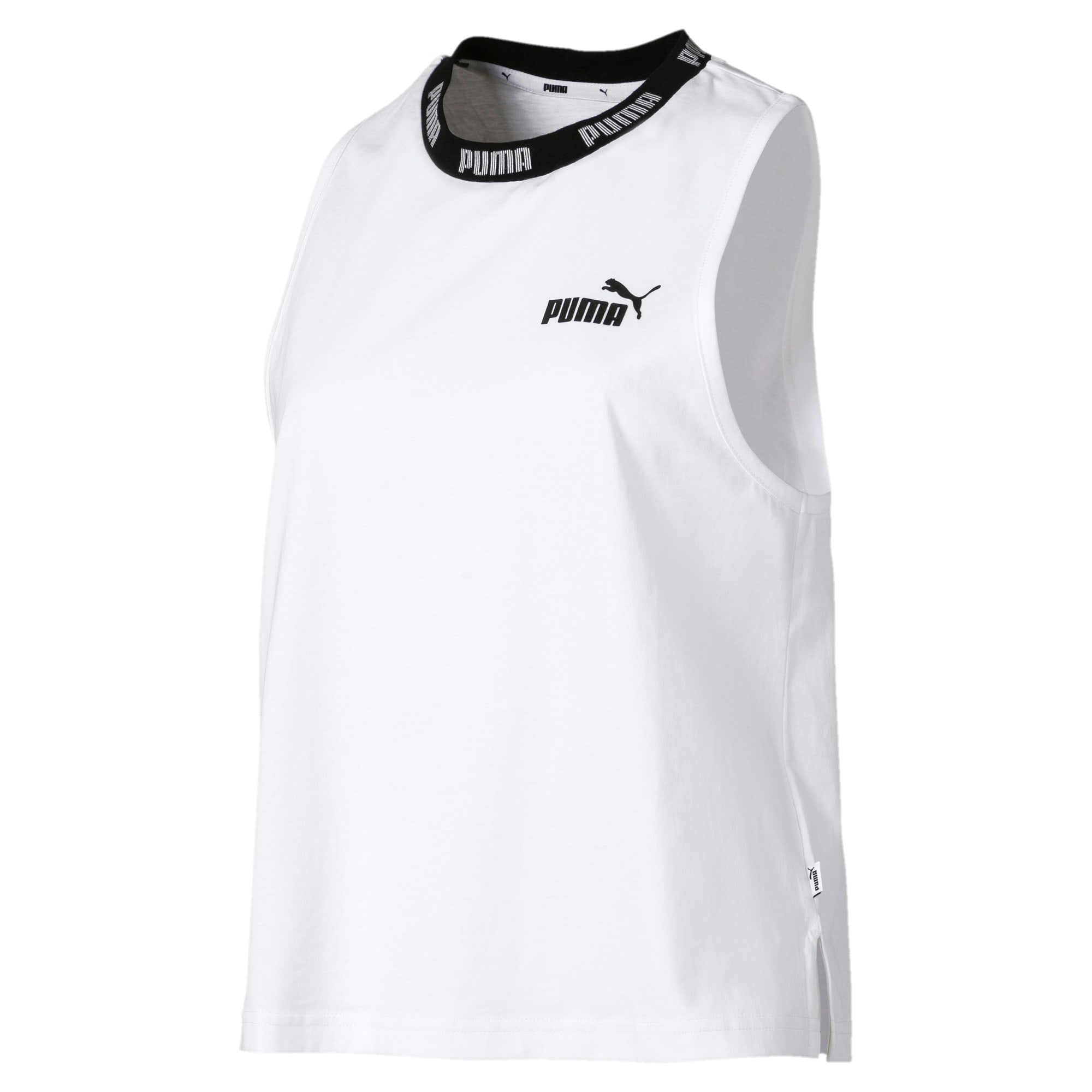 Amplified Women's Tank Top, Puma White, large