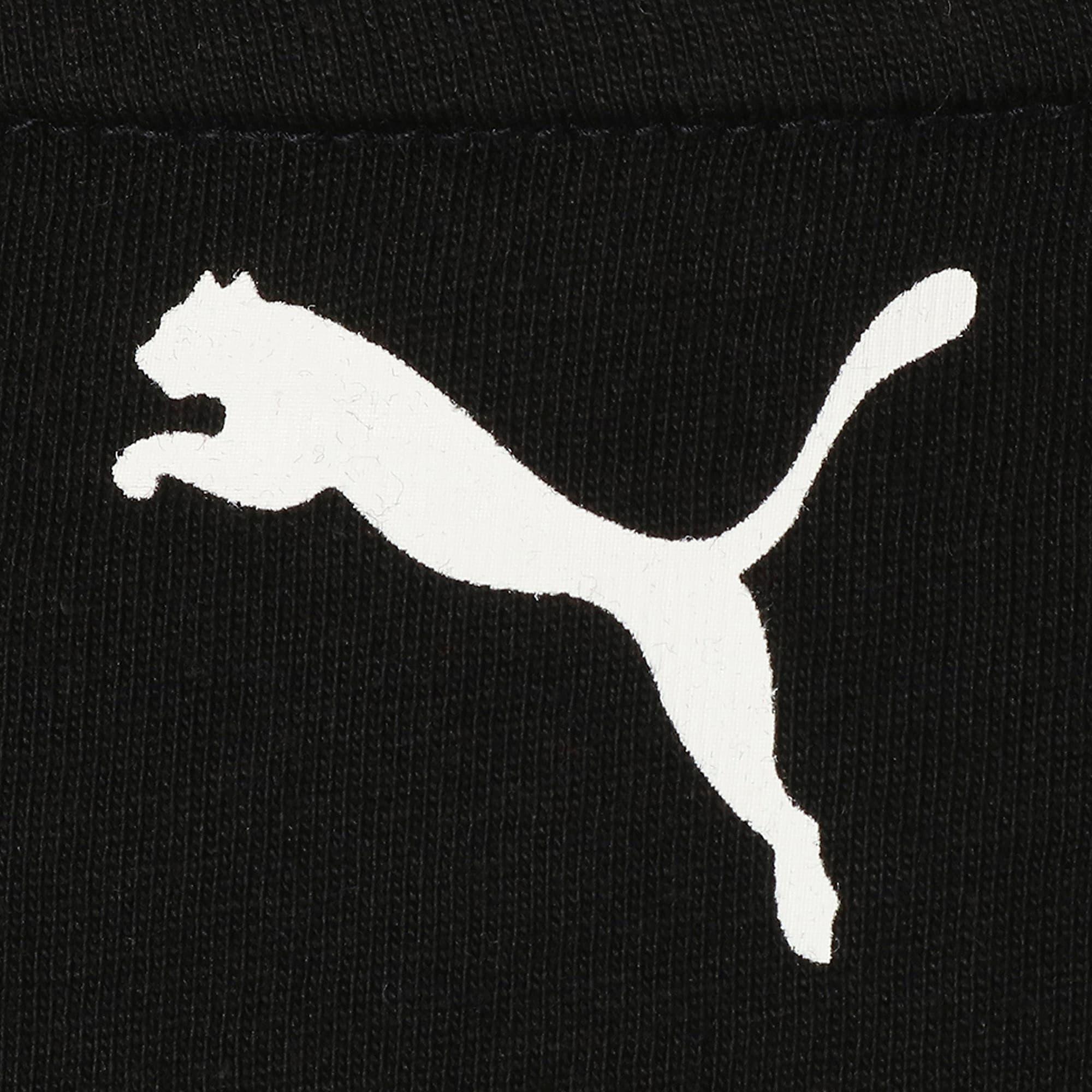 Thumbnail 7 of キッズ ALPHA SS トレンド Tシャツ 半袖, Puma Black, medium-JPN