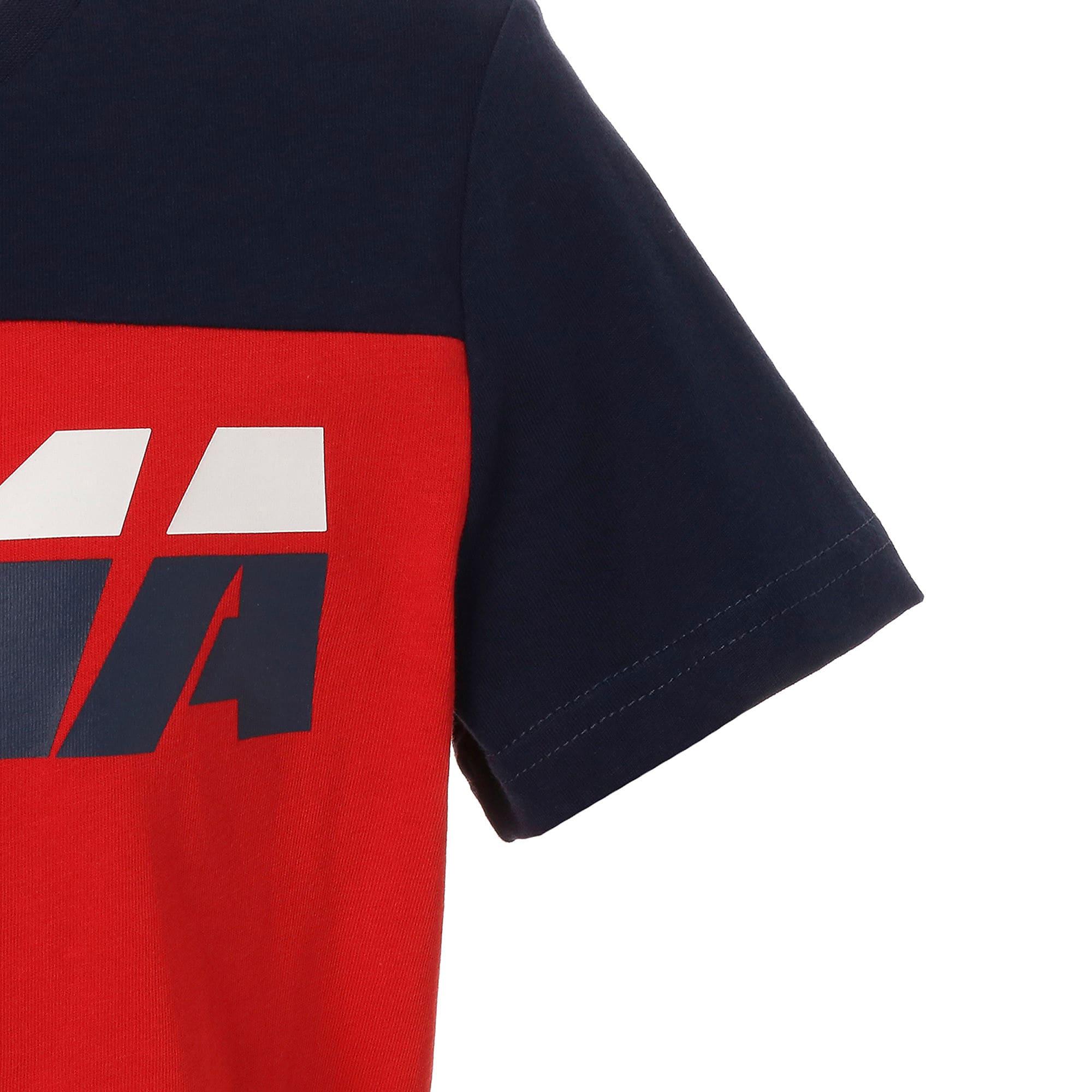 Thumbnail 5 of キッズ ALPHA SS トレンド Tシャツ 半袖, High Risk Red, medium-JPN