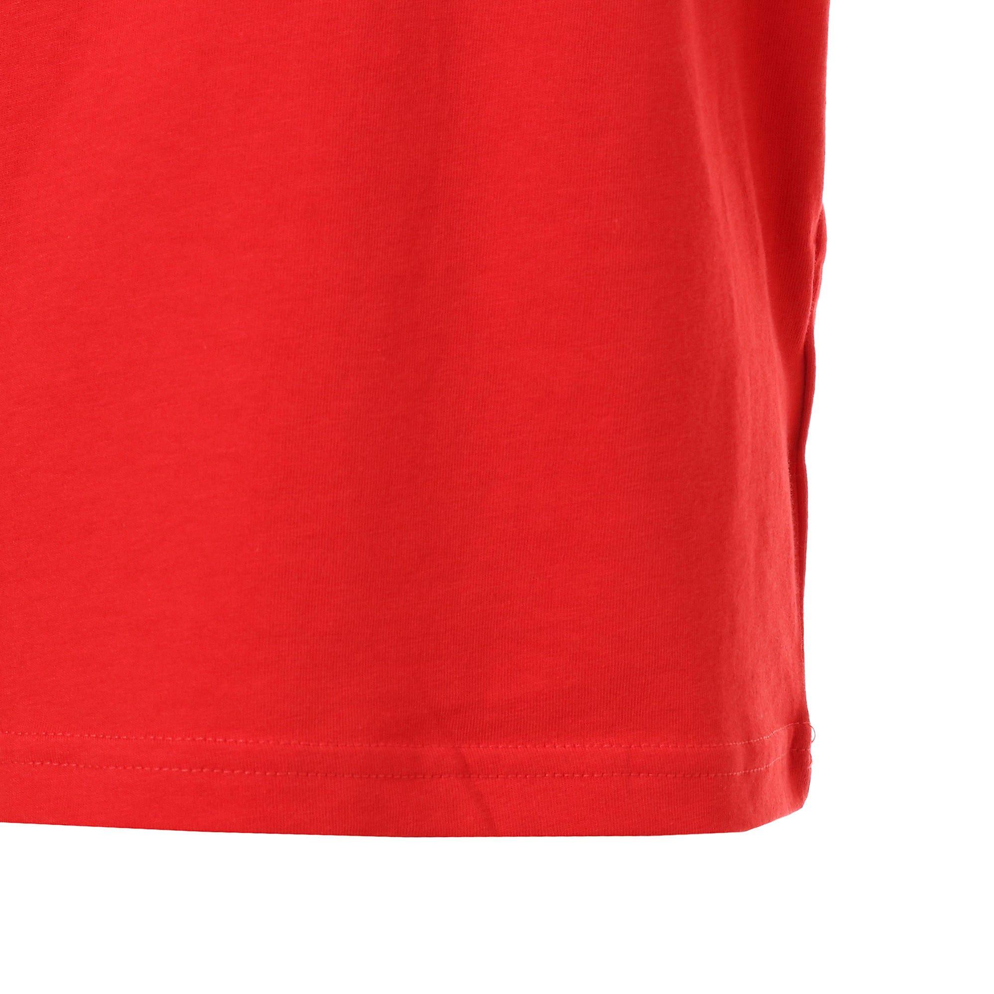 Thumbnail 6 of キッズ ALPHA SS トレンド Tシャツ 半袖, High Risk Red, medium-JPN