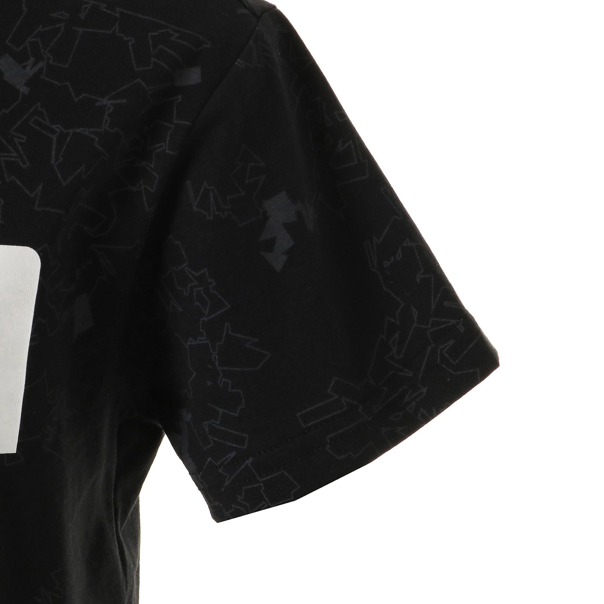 Thumbnail 5 of キッズ ACTIVE SS AOP Tシャツ 半袖, Puma Black, medium-JPN