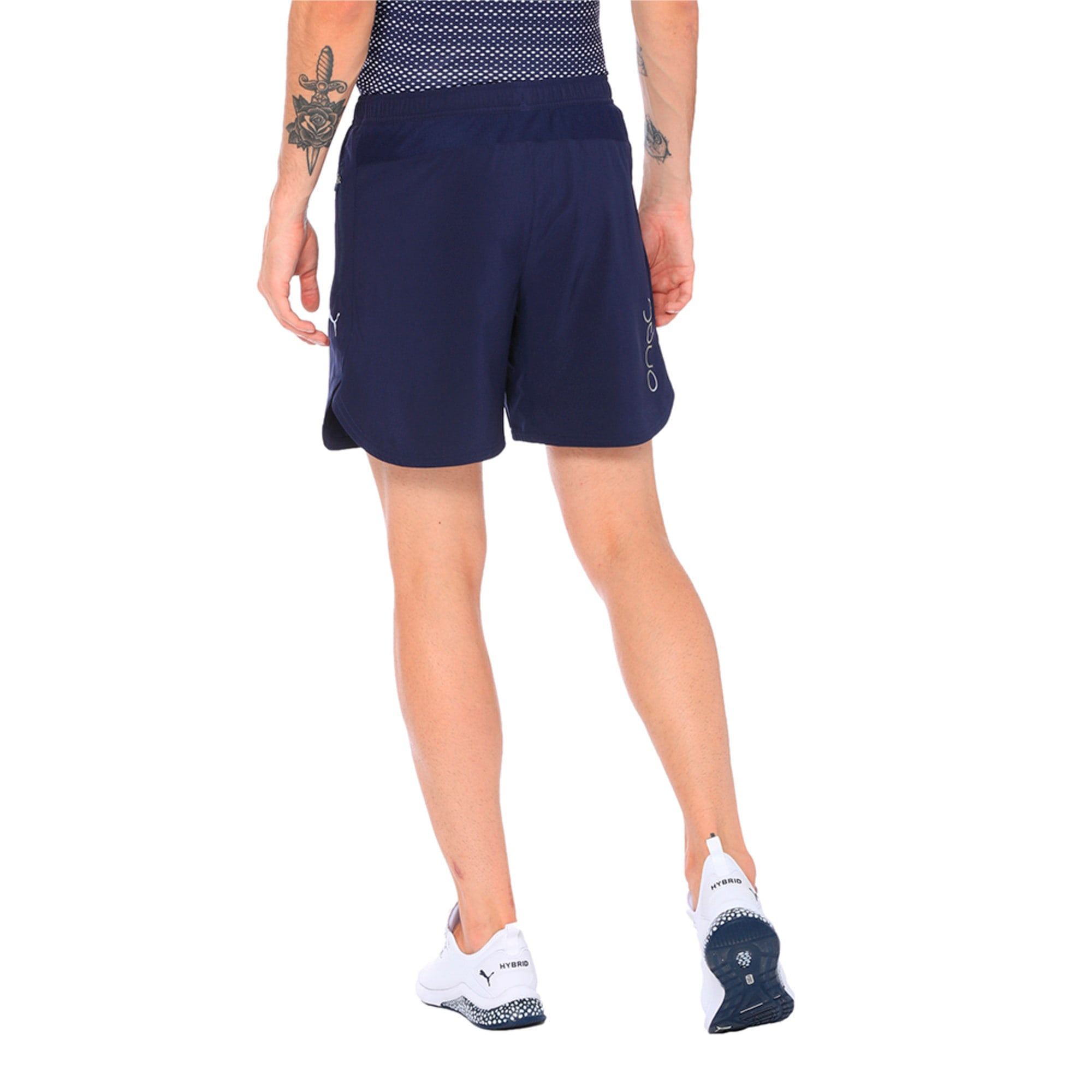 Thumbnail 5 of one8 VK Men's Active Shorts, Peacoat, medium-IND