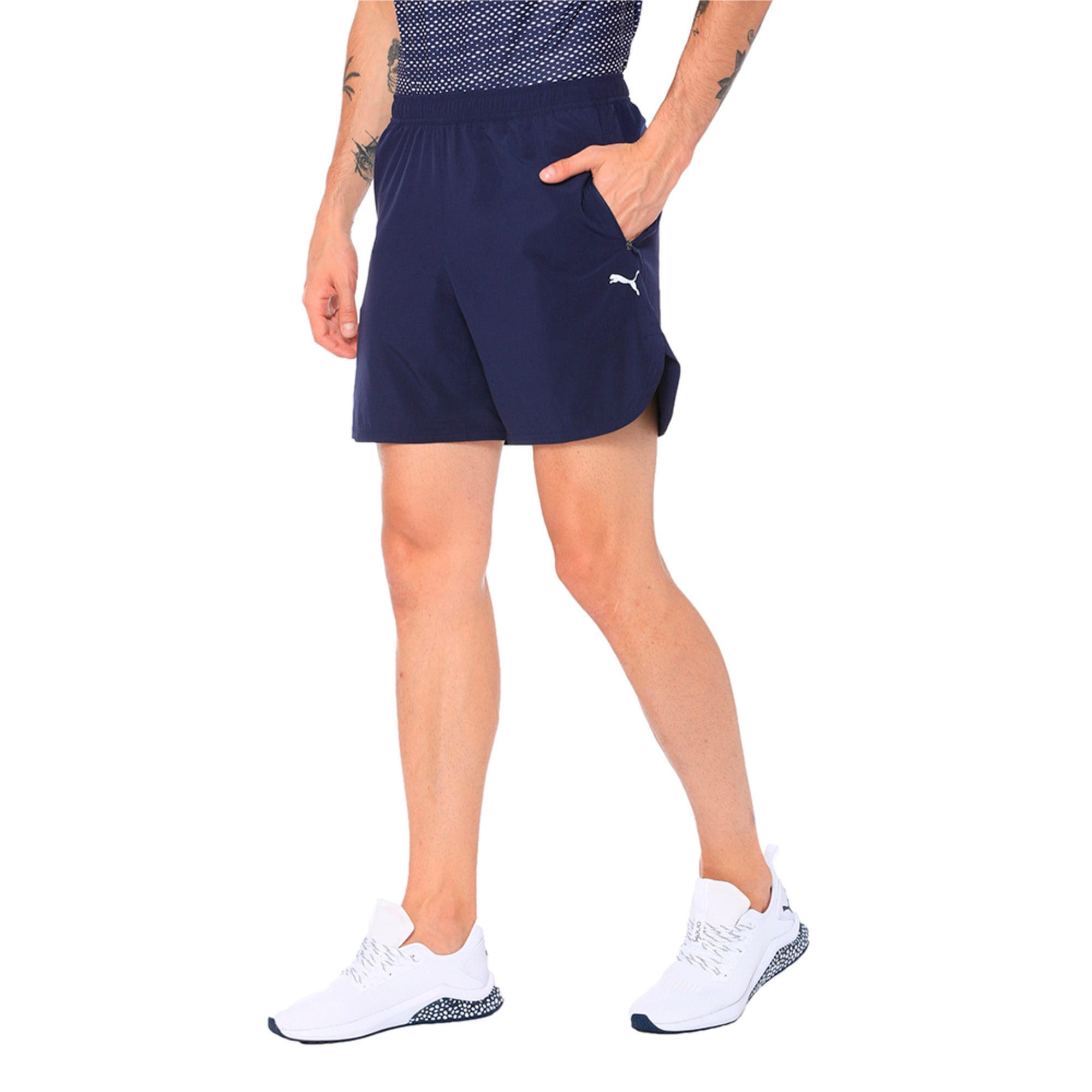 Thumbnail 3 of one8 VK Men's Active Shorts, Peacoat, medium-IND