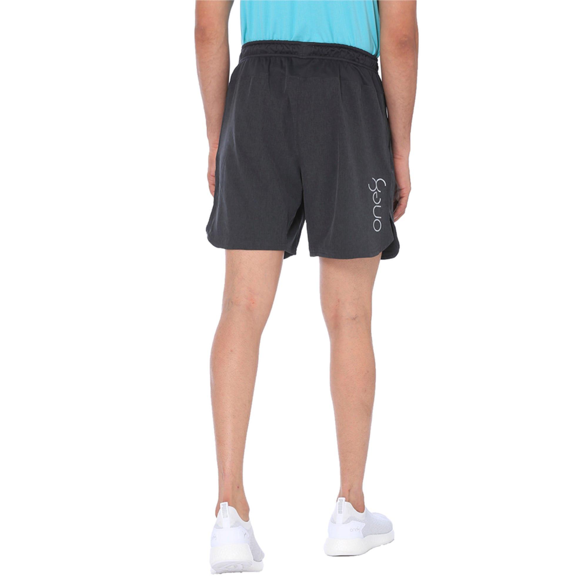 Thumbnail 5 of one8 VK Men's Active Shorts, Dark Gray Heather, medium-IND