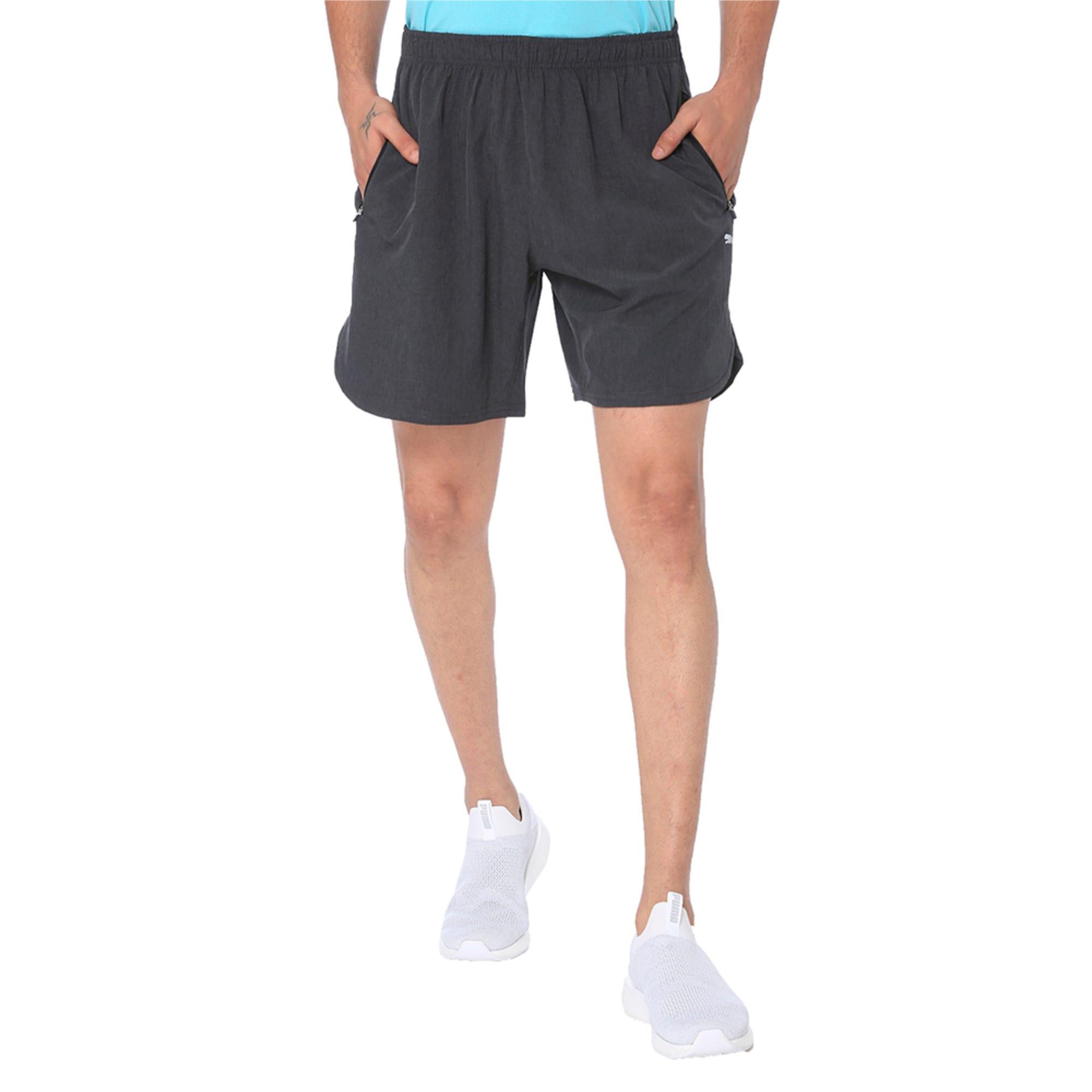 Thumbnail 4 of one8 VK Men's Active Shorts, Dark Gray Heather, medium-IND
