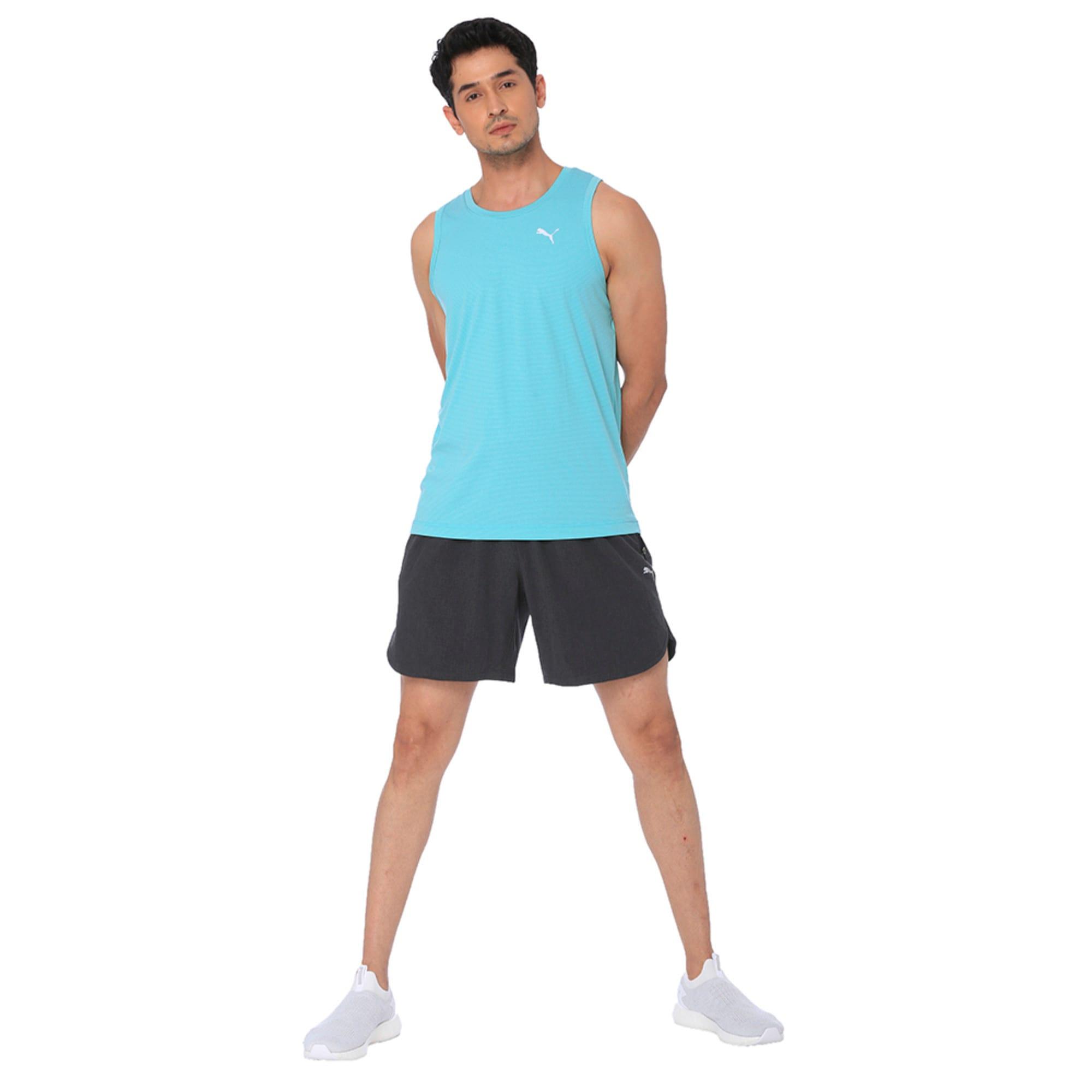 Thumbnail 1 of one8 VK Men's Active Shorts, Dark Gray Heather, medium-IND