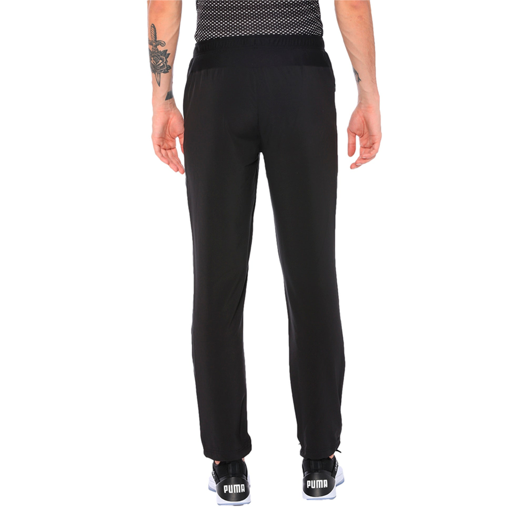 Thumbnail 5 of one8 VK Men's Active Pants, Puma Black, medium-IND