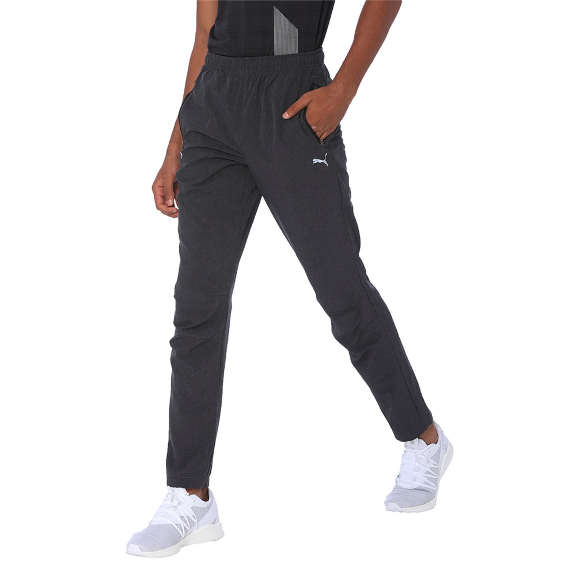 Thumbnail 4 of one8 VK Men's Active Pants, Dark Gray Heather, medium-IND
