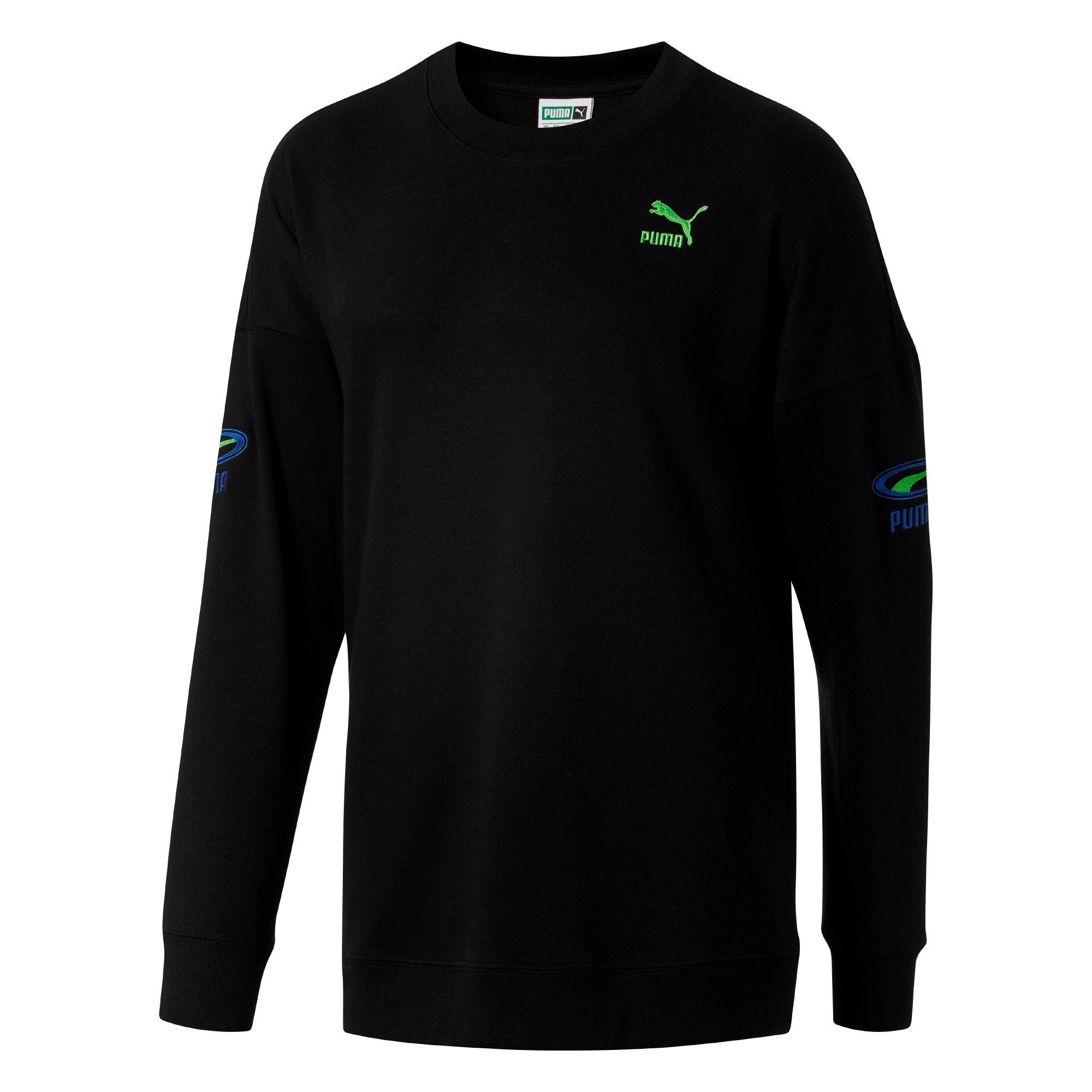 Thumbnail 2 of OG Men's Crewneck Sweatshirt, Puma Black, medium