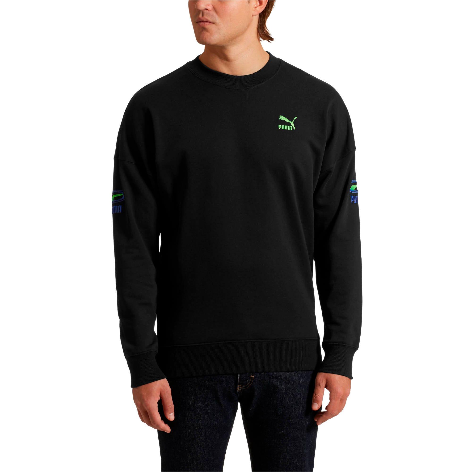 Thumbnail 1 of OG Men's Crewneck Sweatshirt, Puma Black, medium