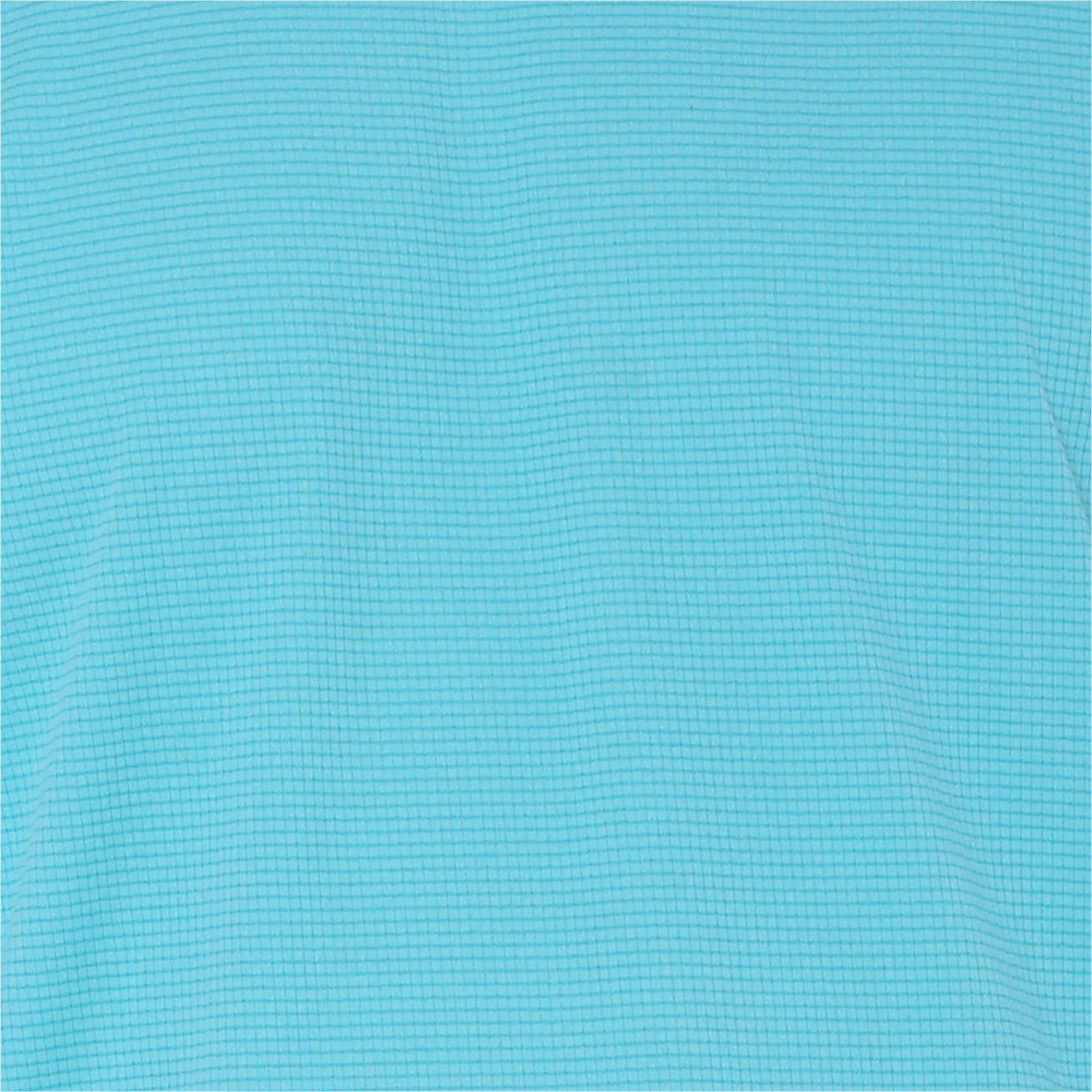 Thumbnail 6 of one8 VK Active Men's Singlet Tee, Blue Turquoise Heather, medium-IND