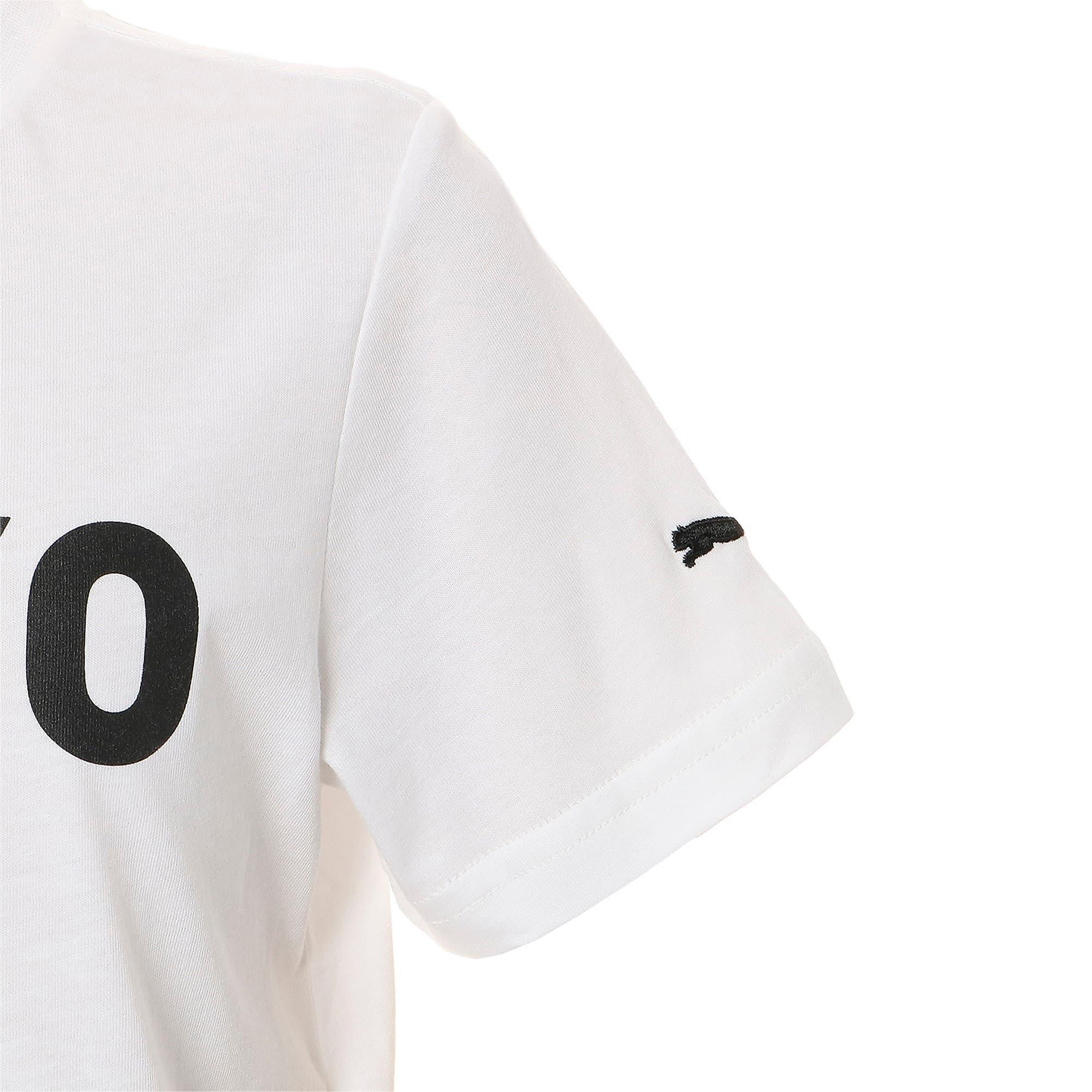Thumbnail 5 of キッズ シティー 半袖 Tシャツ TOKYO 東京, Puma White, medium-JPN
