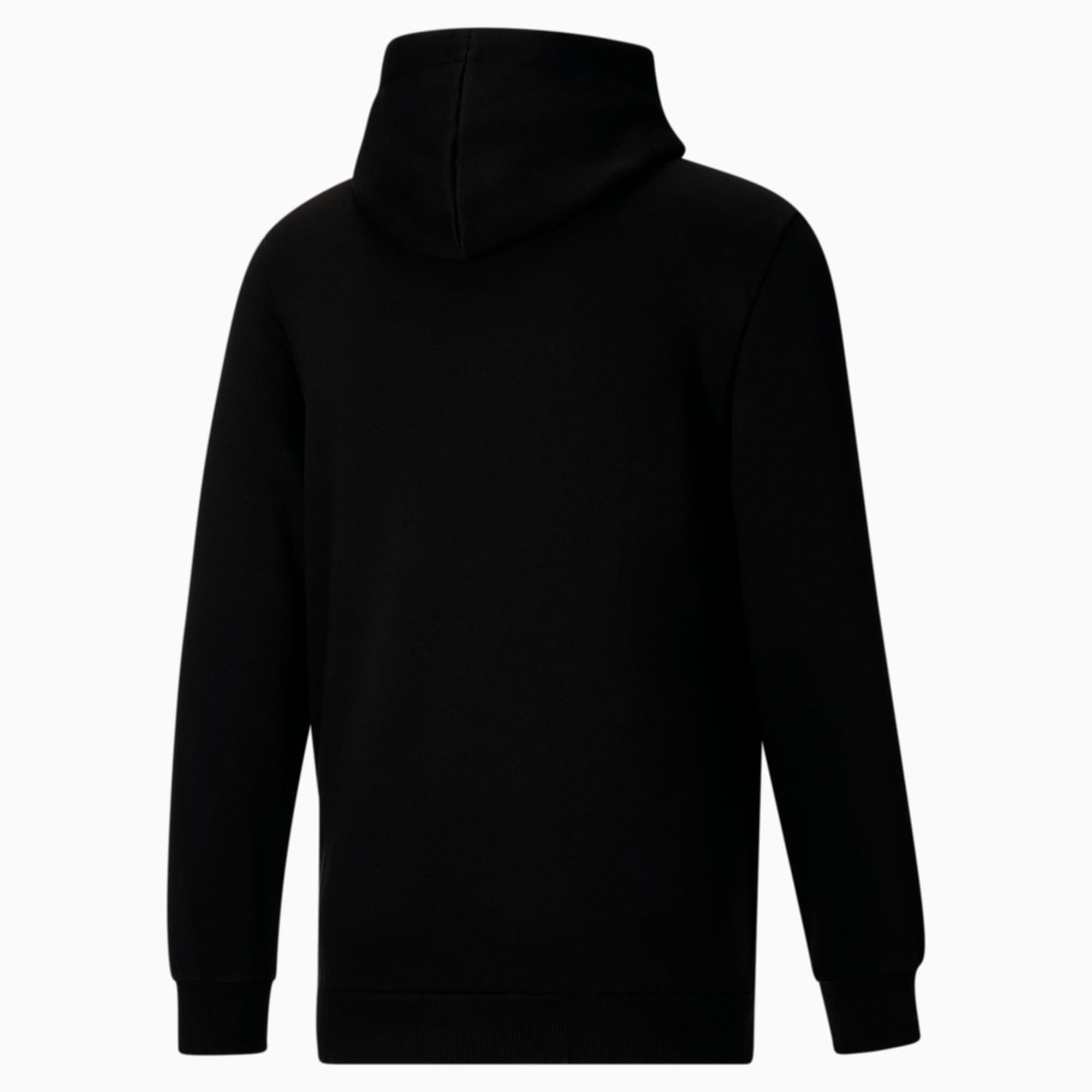Essentials Big Logo Men\'s Hoodie Cotton Black