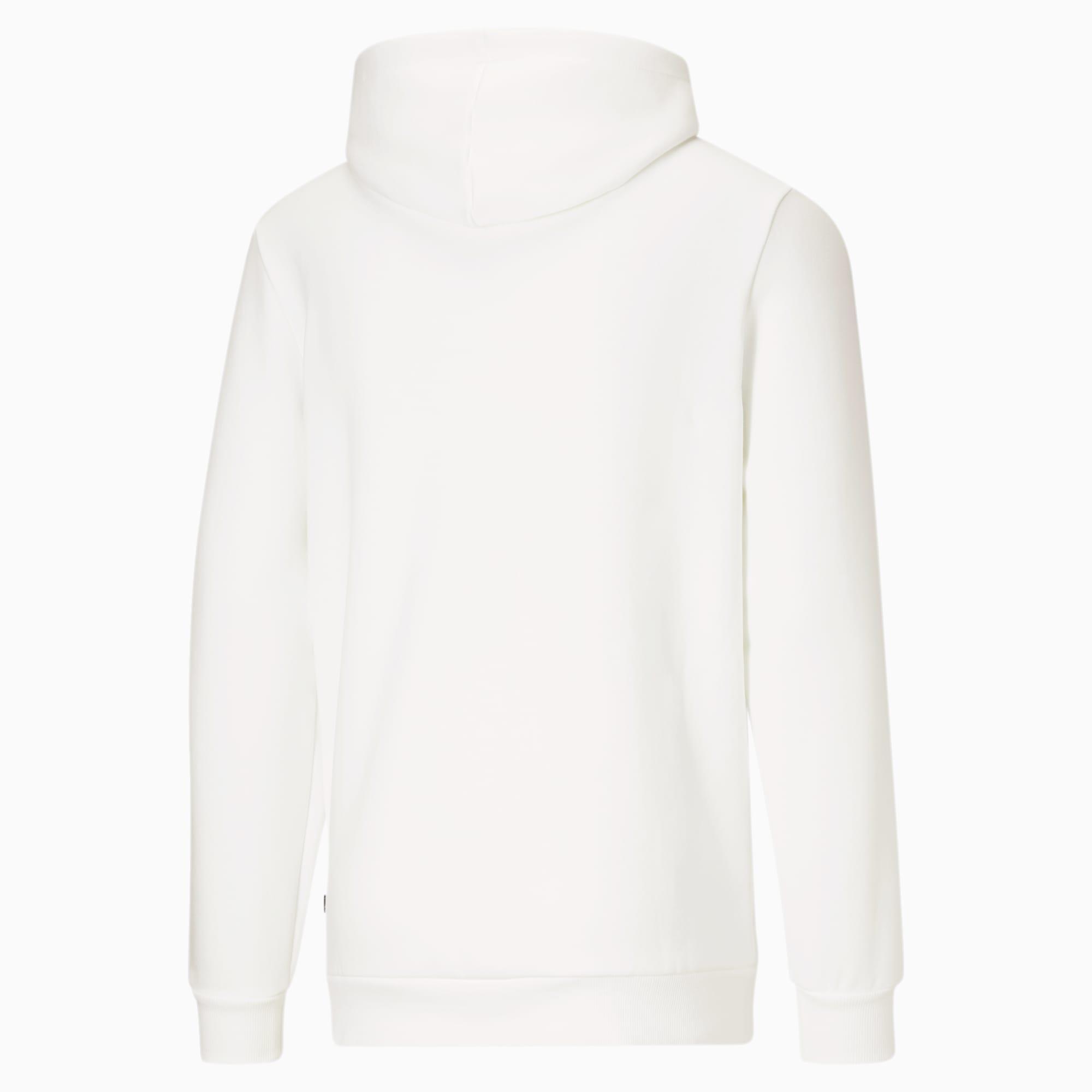 Essentials Big Logo Men\'s Hoodie Puma White