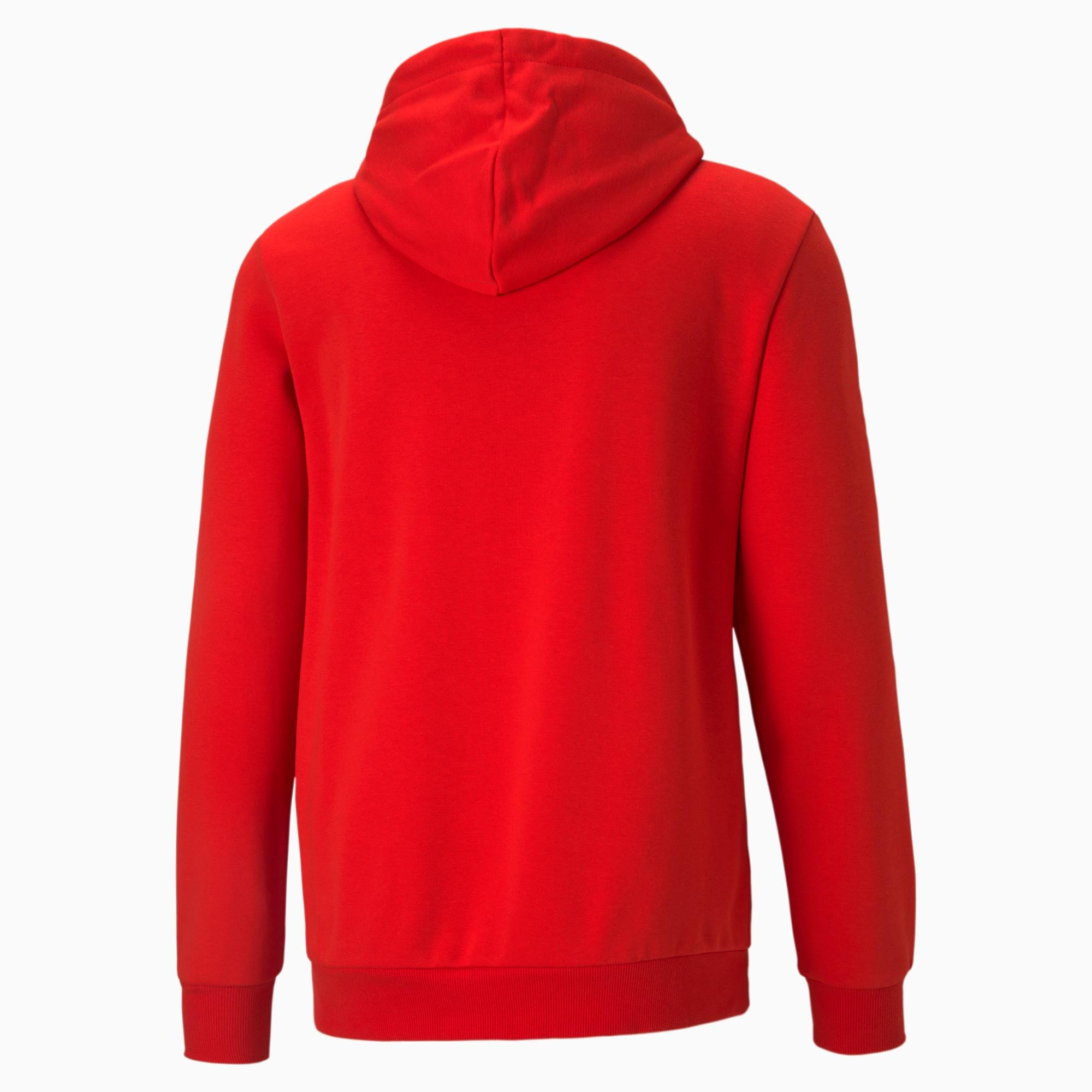 Essentials Big Logo Men\'s Hoodie High Risk Red