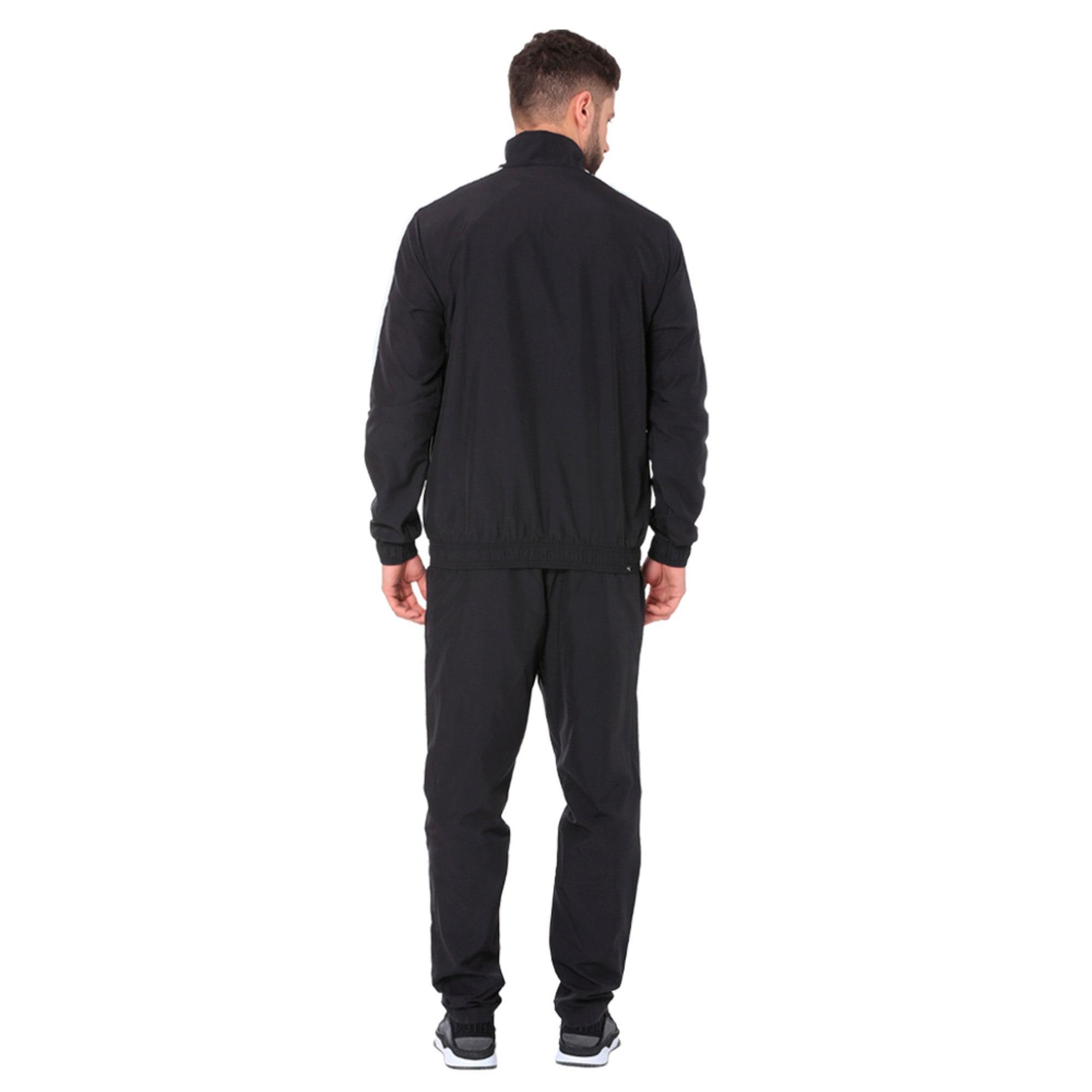 Thumbnail 3 of Classic Woven Men's Suit Op, Puma Black-Puma White, medium-IND