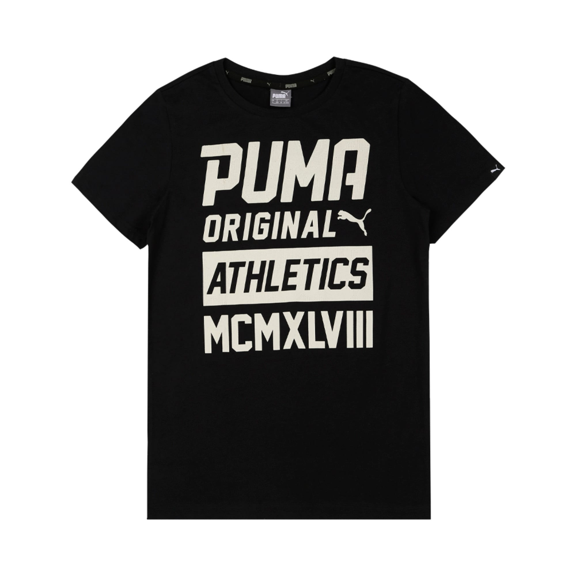 Thumbnail 2 of Style Graphic Tee, Cotton Black, medium-IND