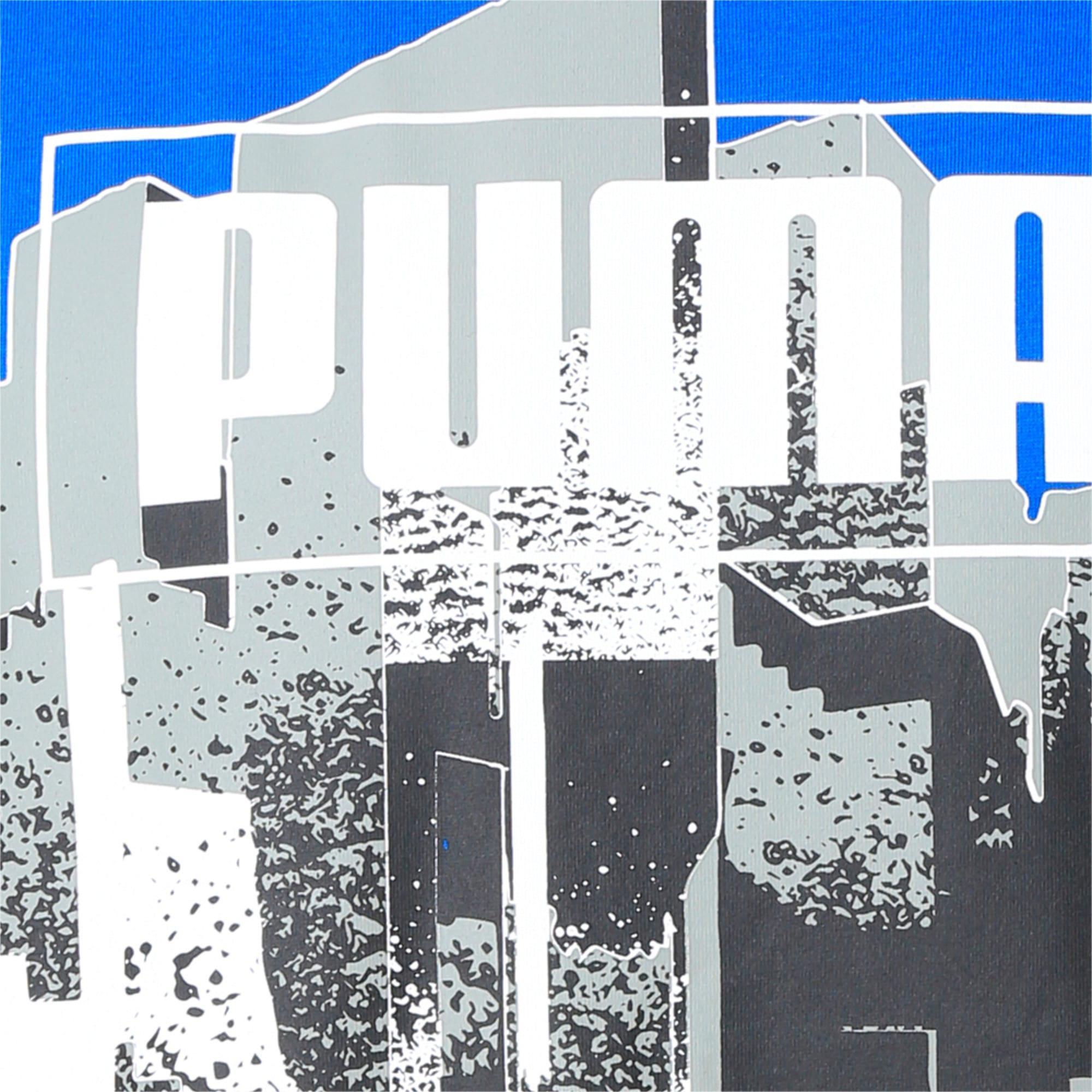 Thumbnail 6 of GRAPHIC TEE M, Puma White, medium-IND