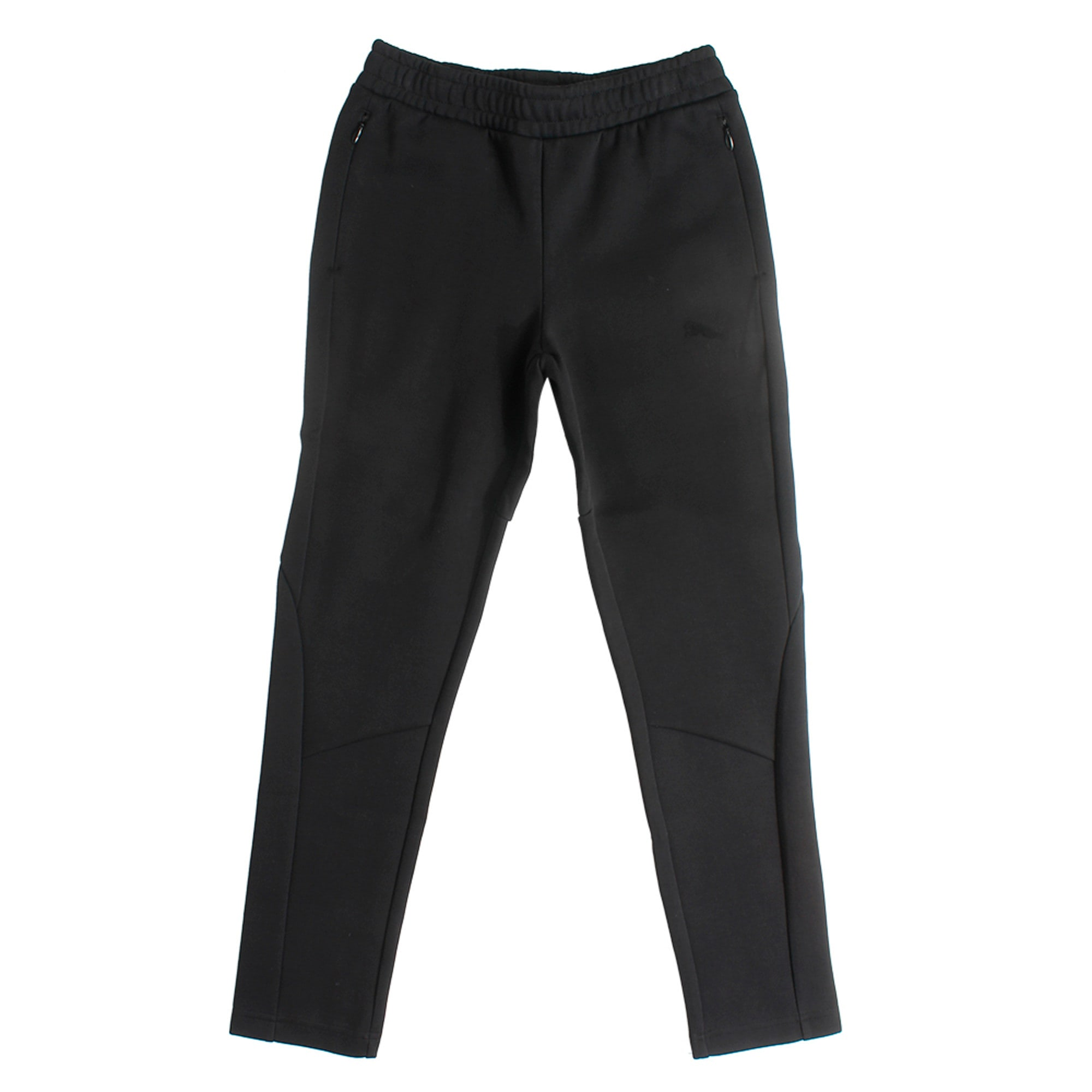 Thumbnail 3 of Evostripe Move Boys' Pants, Cotton Black, medium-IND
