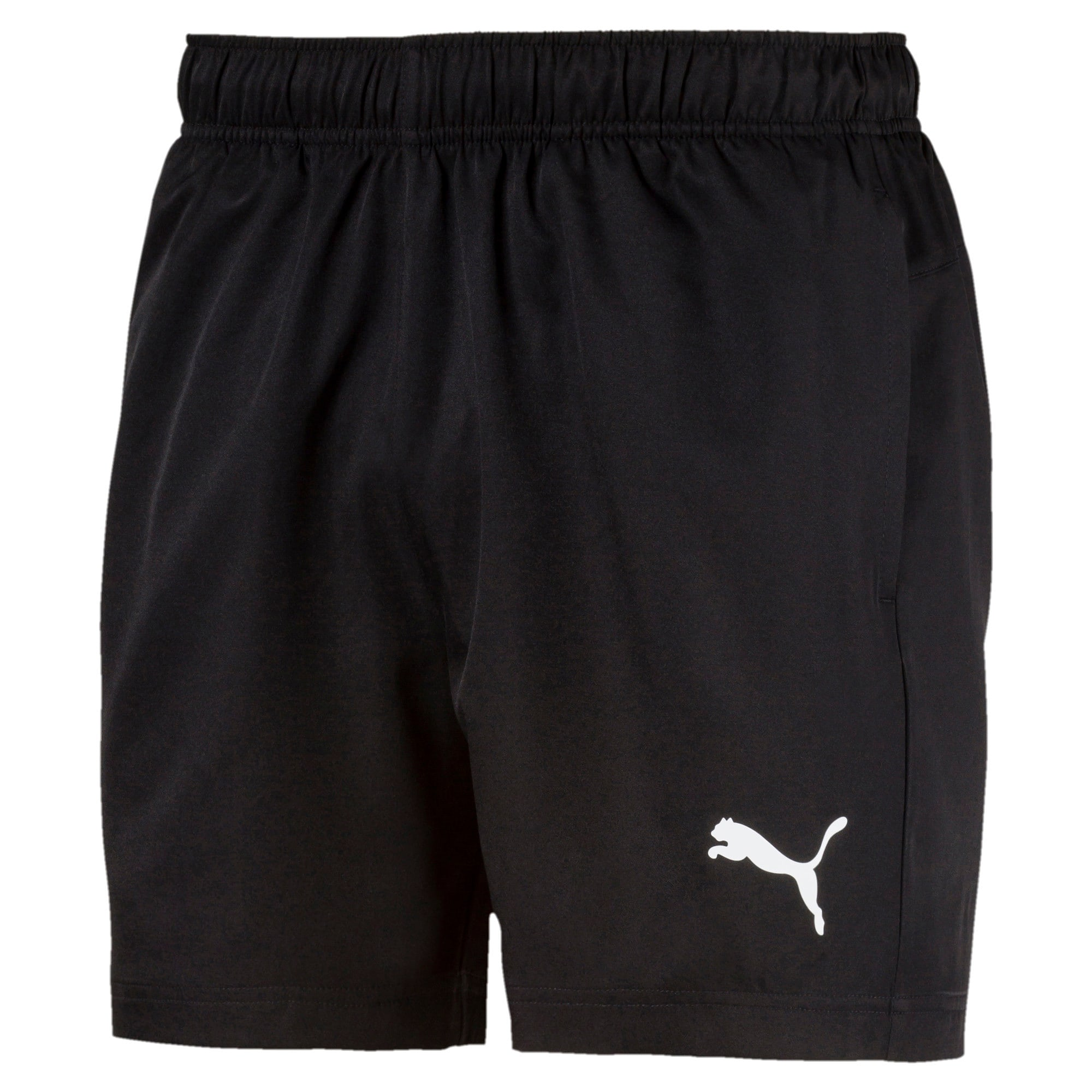 "Thumbnail 4 of Active Woven 5"" Men's Training Shorts, Puma Black, medium"