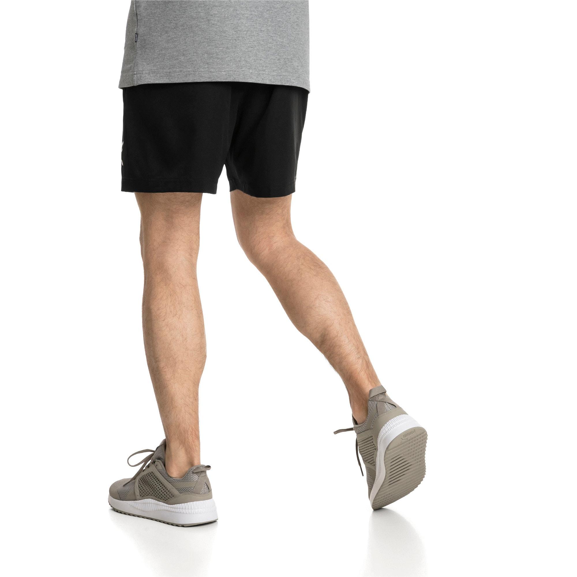 "Thumbnail 2 of Active Woven 5"" Men's Training Shorts, Puma Black, medium"